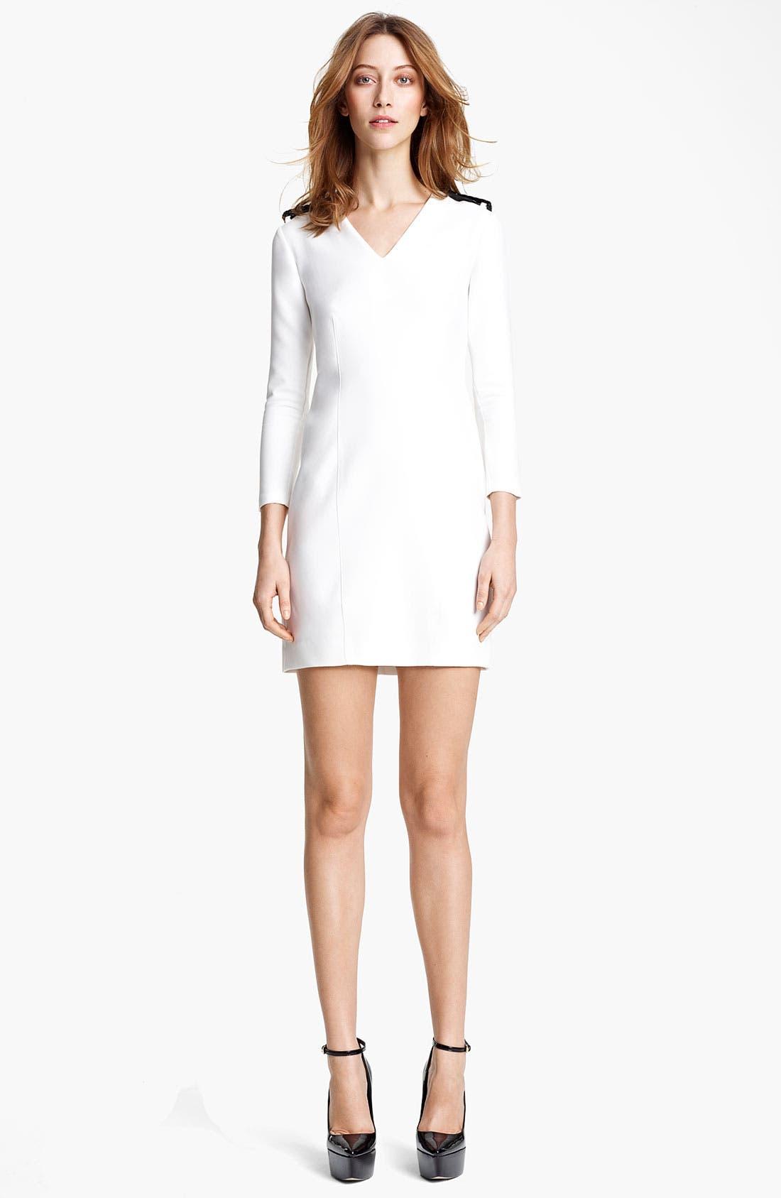 Main Image - Burberry London Epaulet Dress