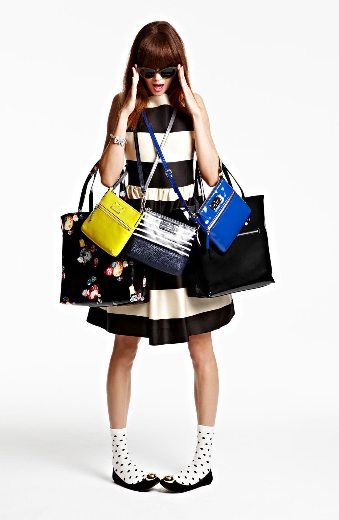 Alternate Image 1 Selected - kate spade new york dress, sunglasses & handbags
