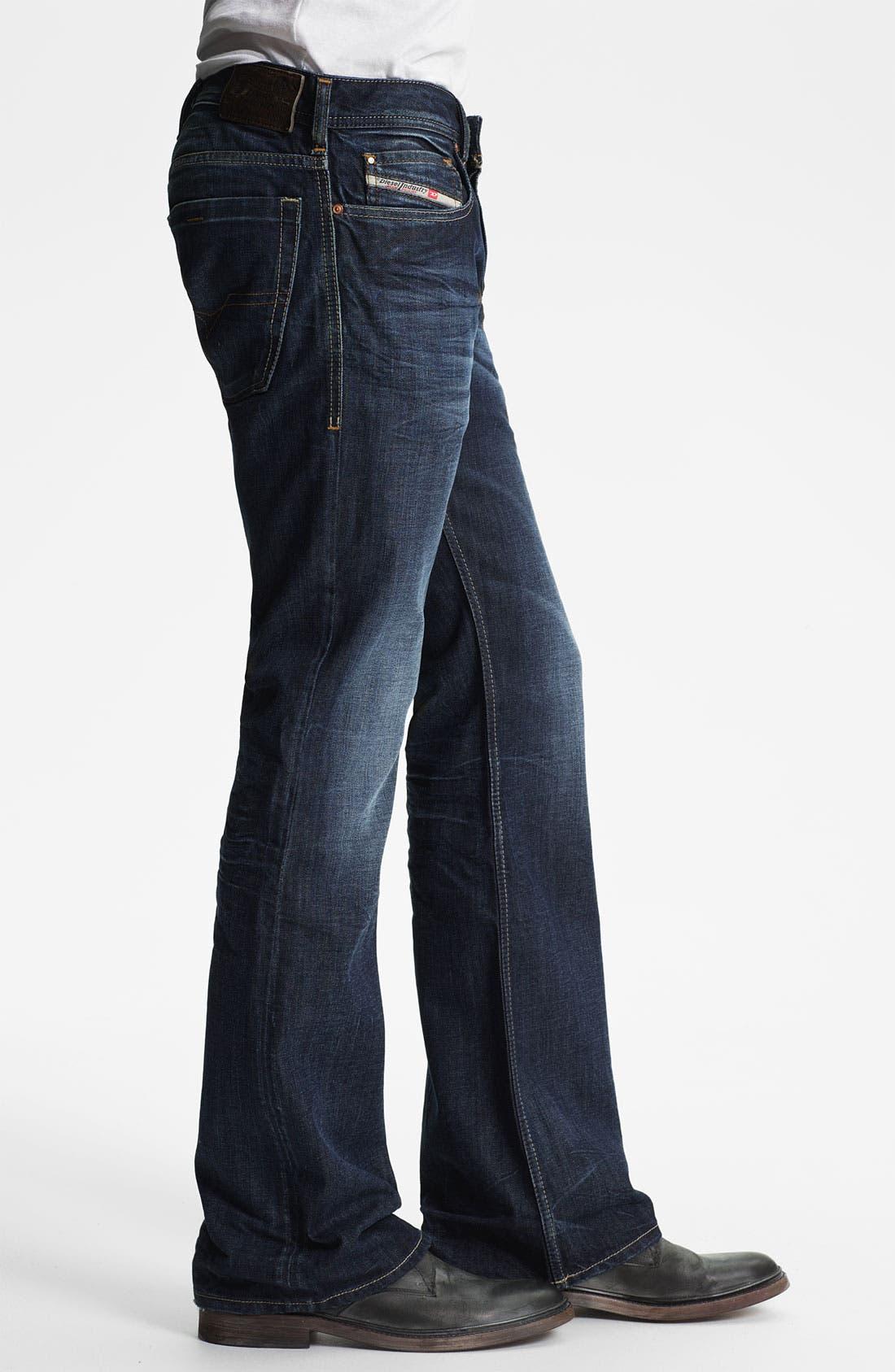 Alternate Image 3  - DIESEL® 'Zathan' Bootcut Jeans (0806U)