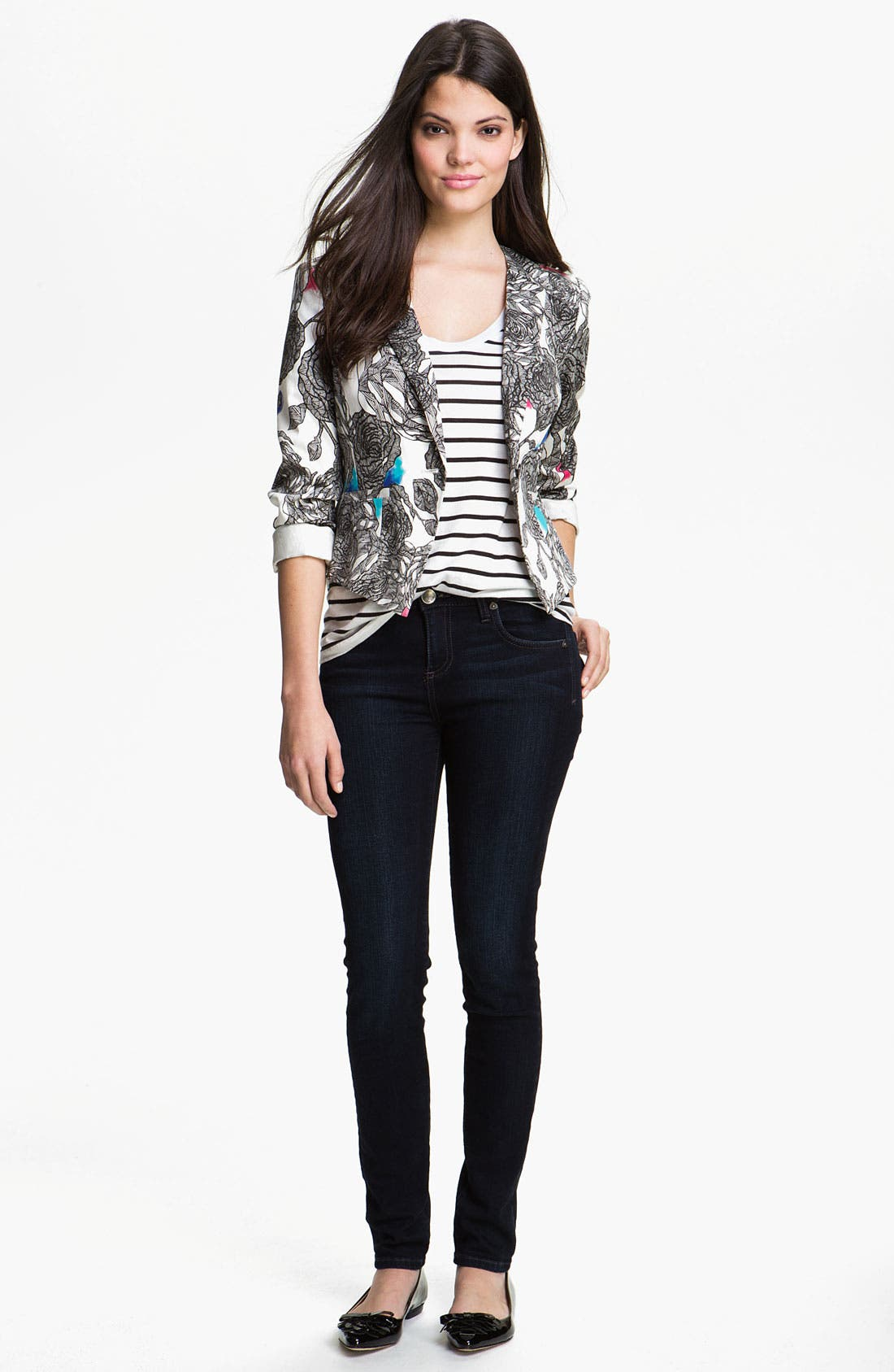 Alternate Image 4  - KUT from the Kloth 'Diana' Skinny Jeans (Exquisite Wash)