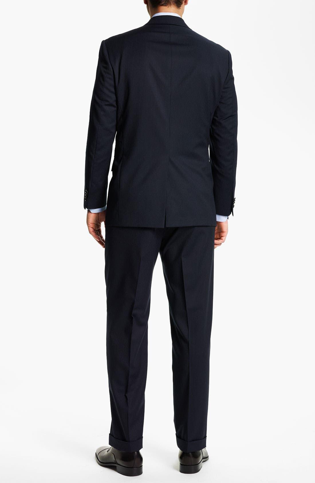 Alternate Image 3  - Hart Schaffner Marx Stripe Suit
