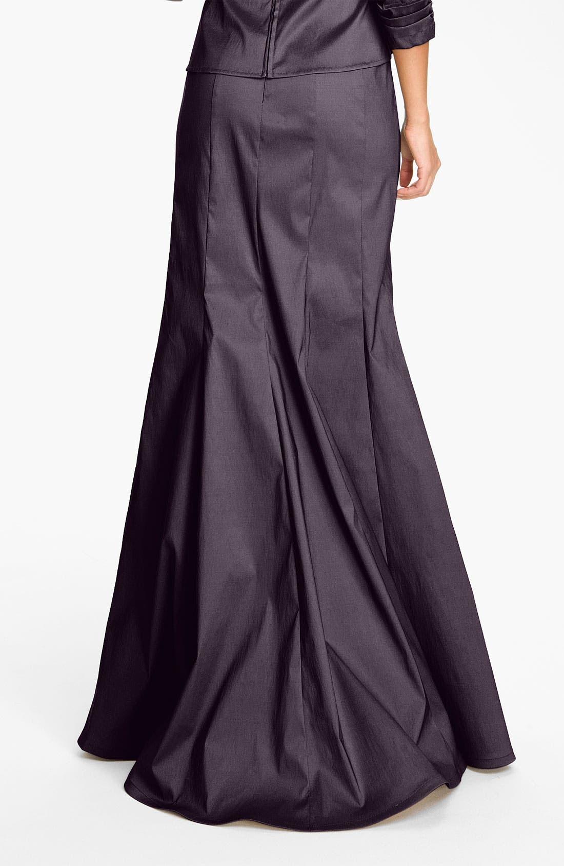 Alternate Image 2  - Tadashi Shoji Taffeta Mermaid Skirt