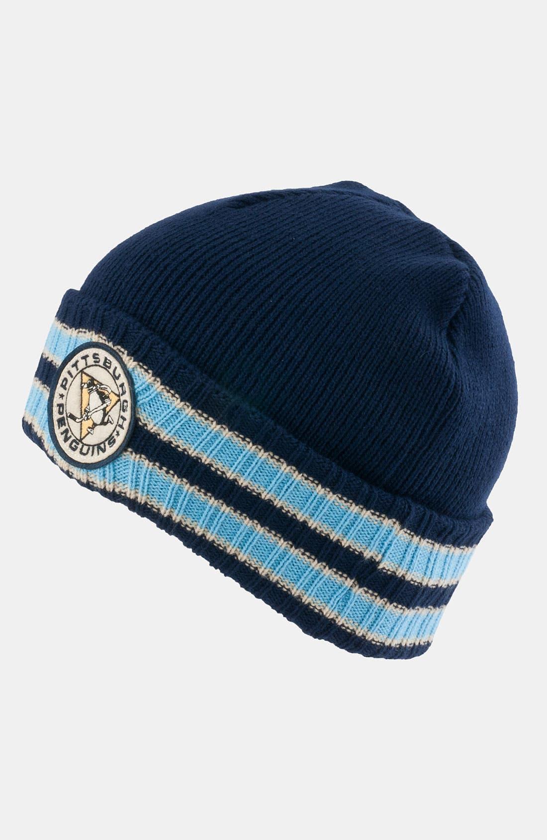 Main Image - American Needle 'Pittsburgh Penguins - Slash' Knit Hat