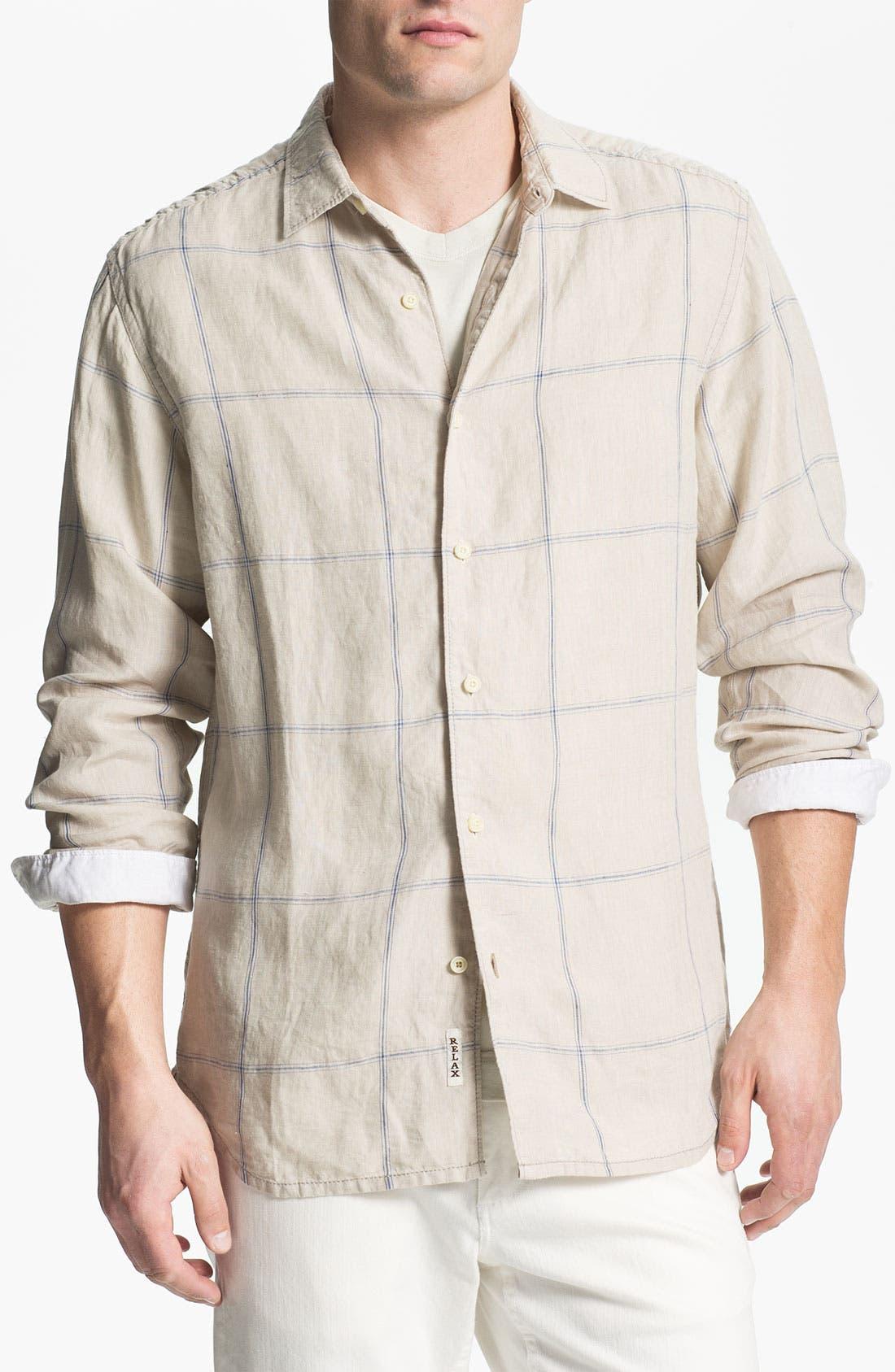 Alternate Image 1 Selected - Tommy Bahama 'Manhattan Island Breezer' Sport Shirt