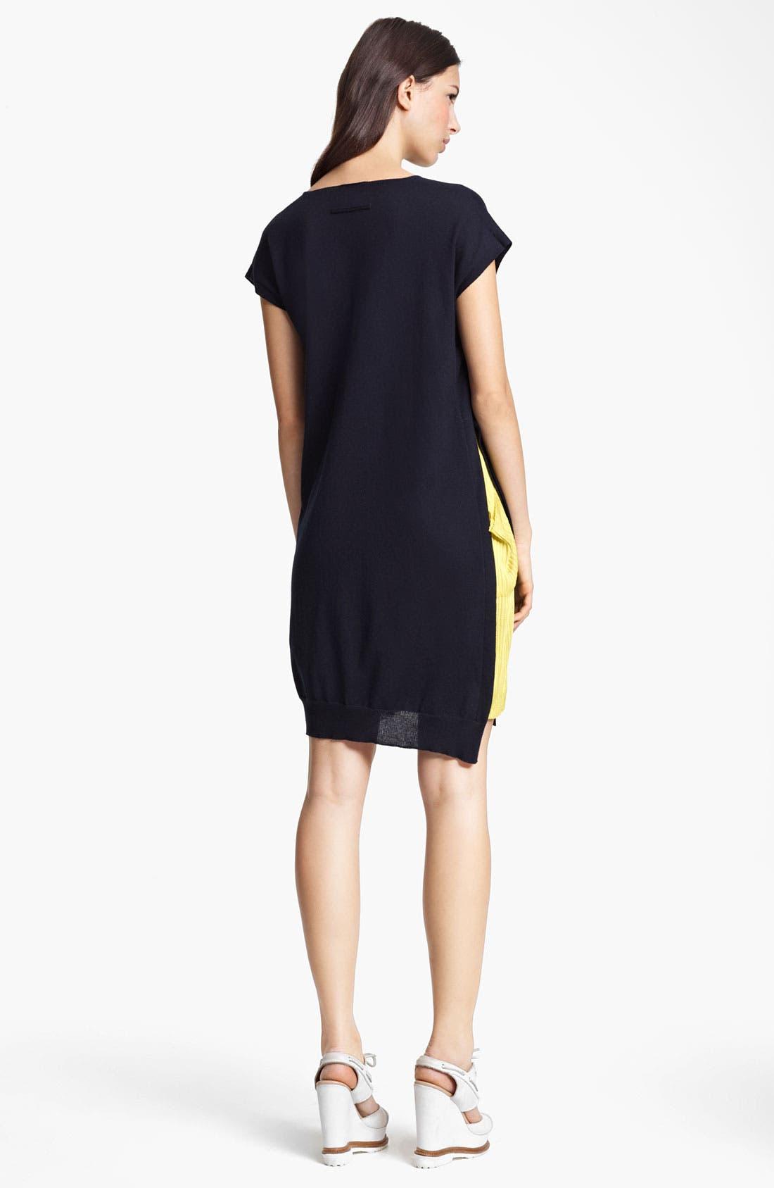 Alternate Image 2  - Jean Paul Gaultier Fuzzi Contrast Inset Knit Tunic