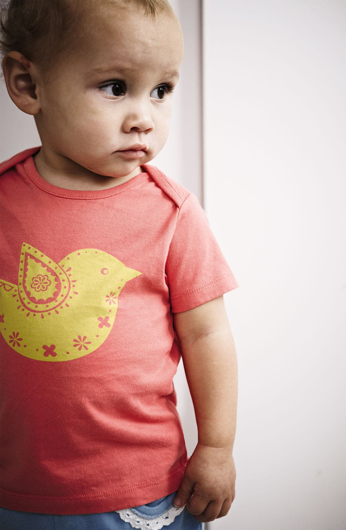 Alternate Image 2  - Mini Boden 'Pretty Animal' Tee (Baby)