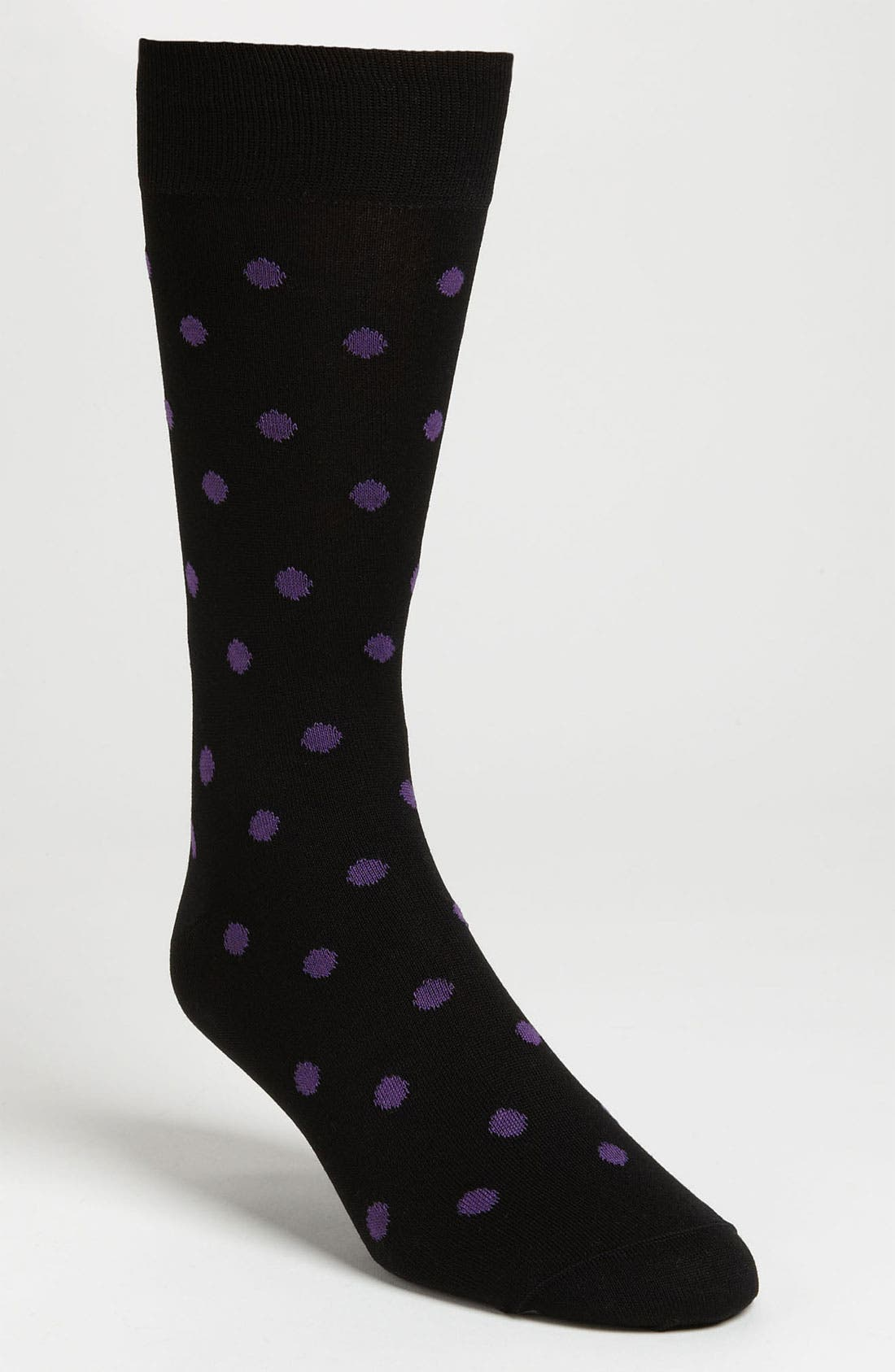 Alternate Image 1 Selected - BUGATCHI Dot Socks