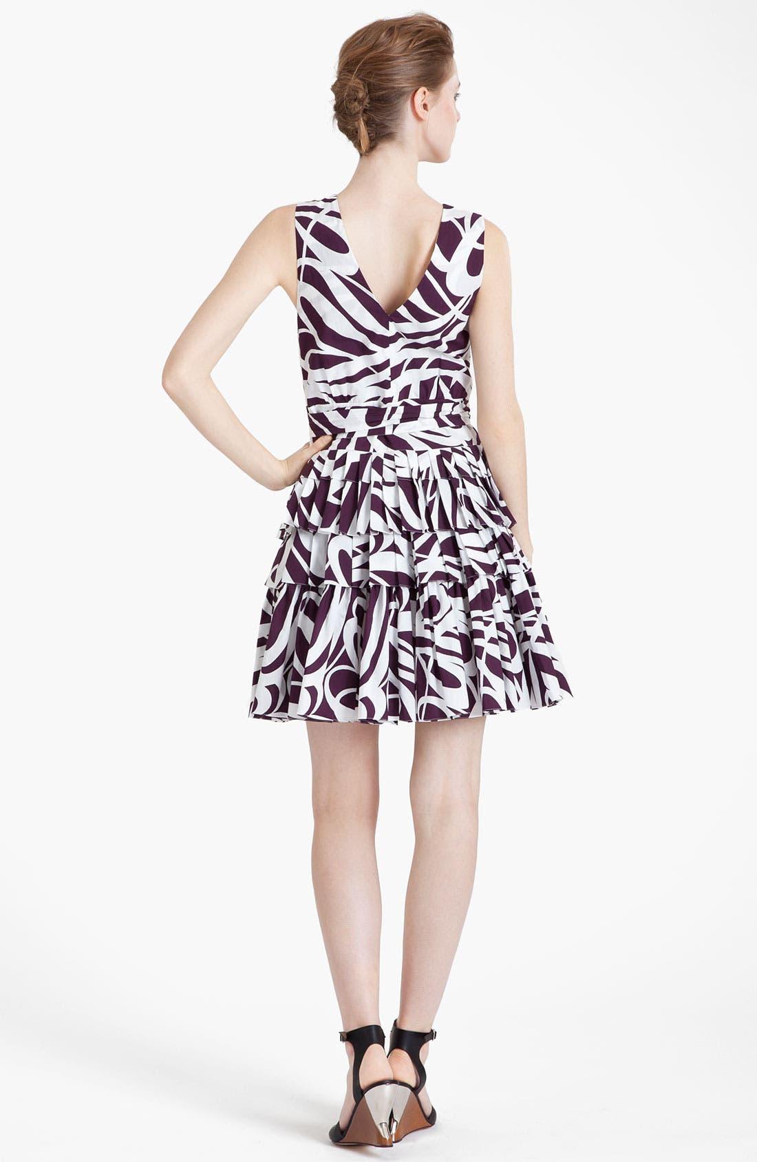 Alternate Image 2  - Marni Swirl Print Ruffled Dress