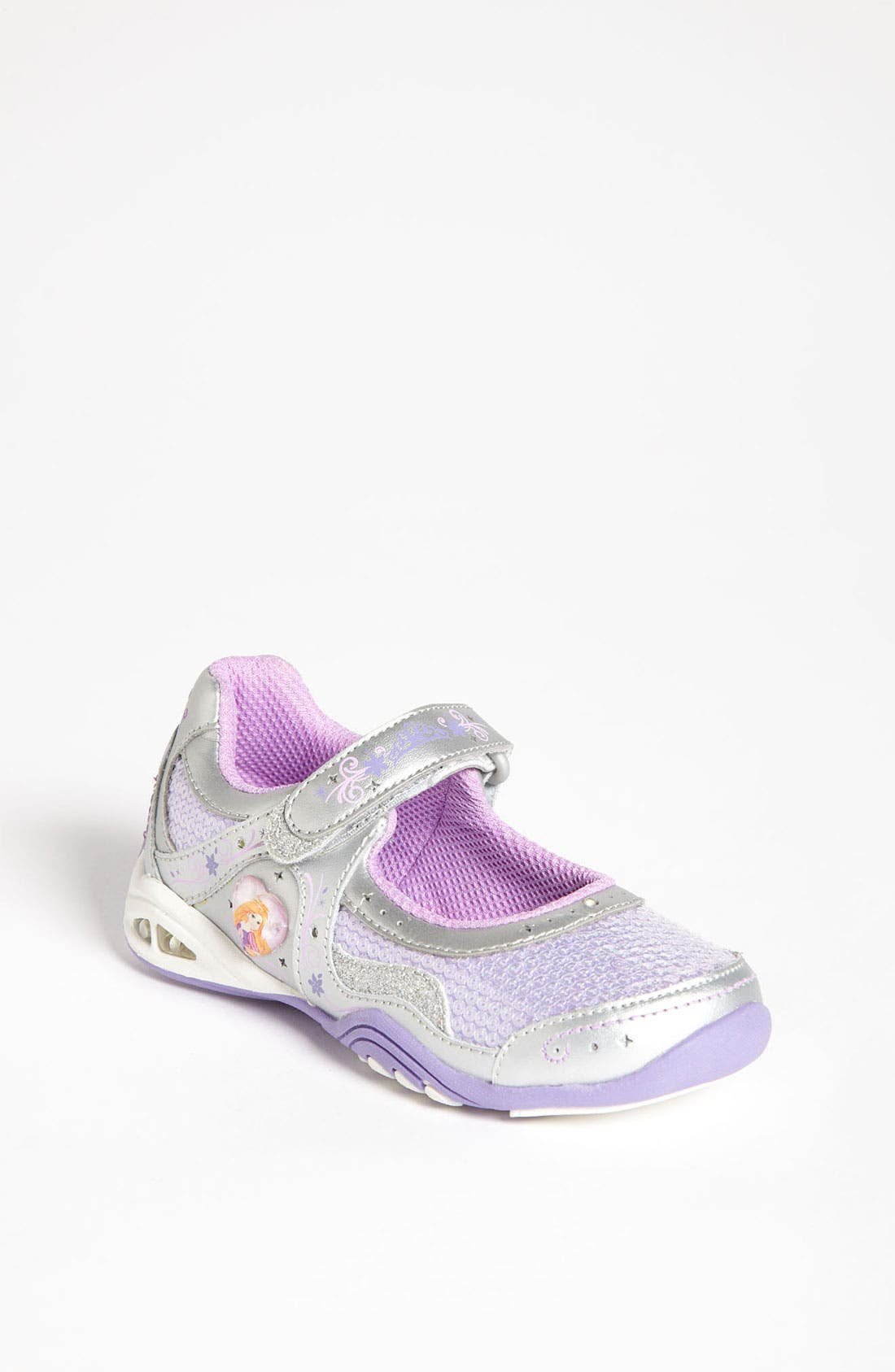 Main Image - Stride Rite 'Disney™ - Rapunzel' Mary Jane Sneaker (Toddler)
