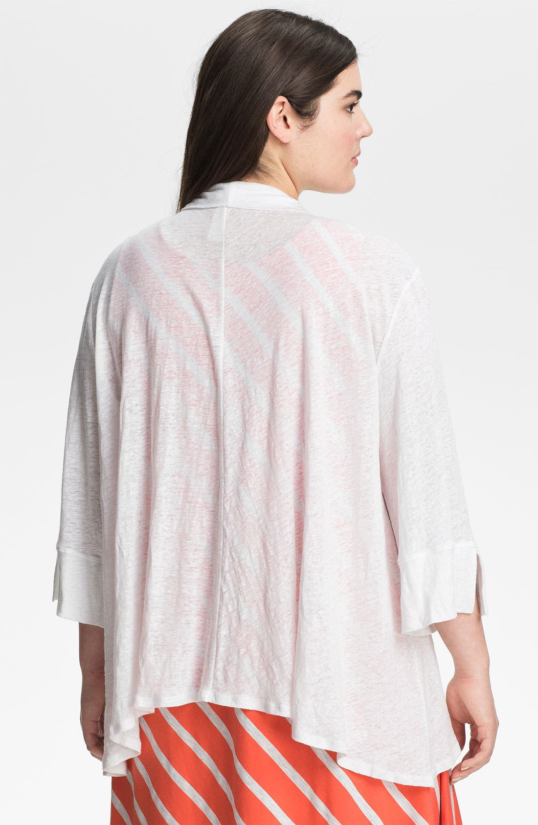 Alternate Image 2  - Chalet 'Amelie' Bell Sleeve Cardigan (Plus)