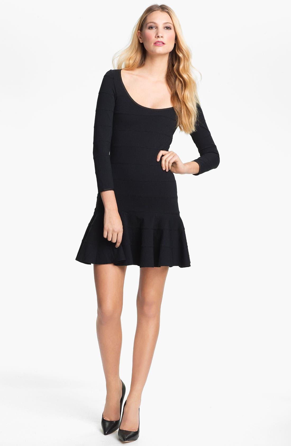 Main Image - Juicy Couture Flared Bandage Dress