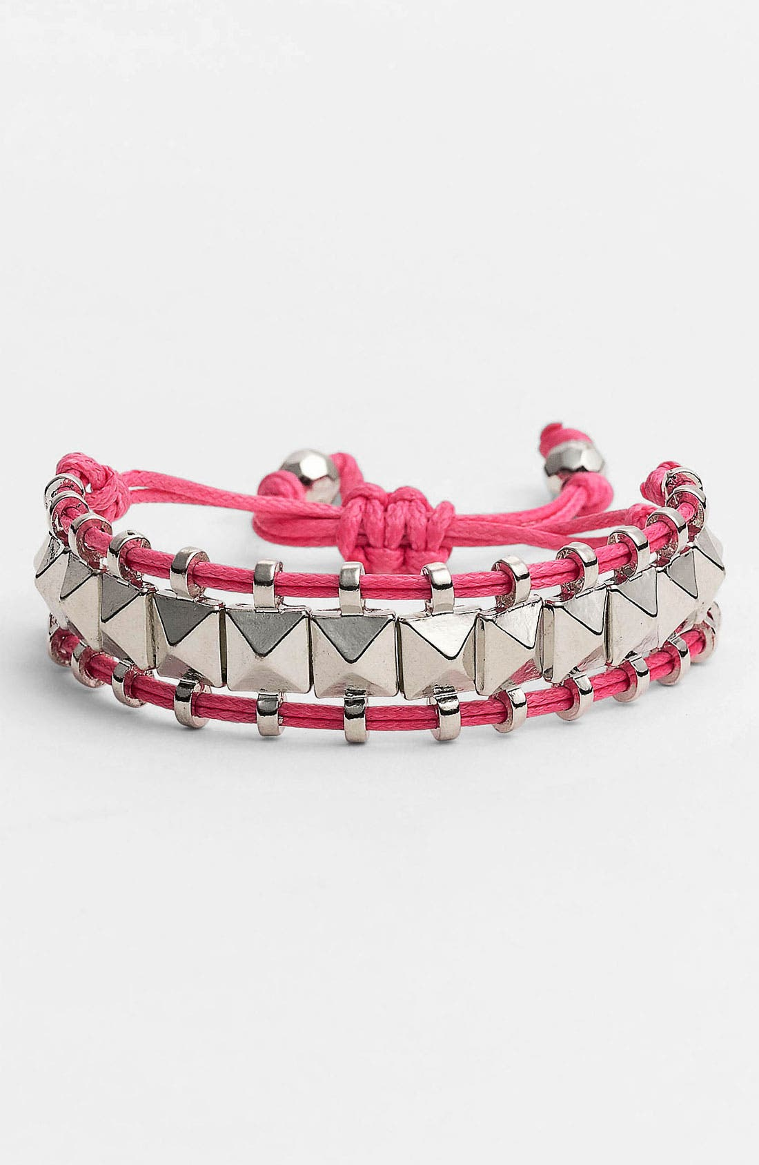 Alternate Image 1 Selected - Cara Pyramid Stud Friendship Bracelet