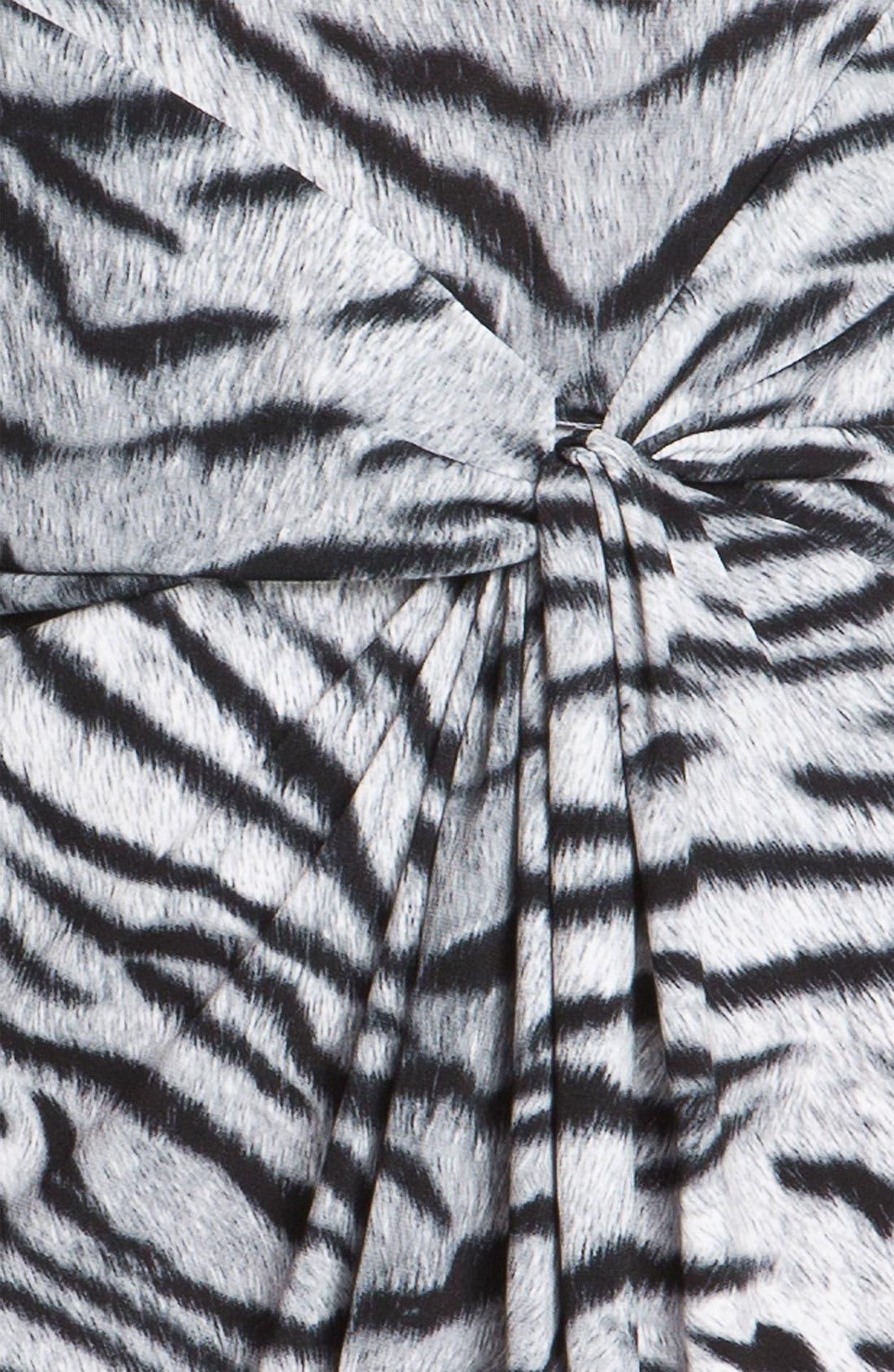 Alternate Image 3  - MICHAEL Michael Kors Knot Front Dress (Petite)