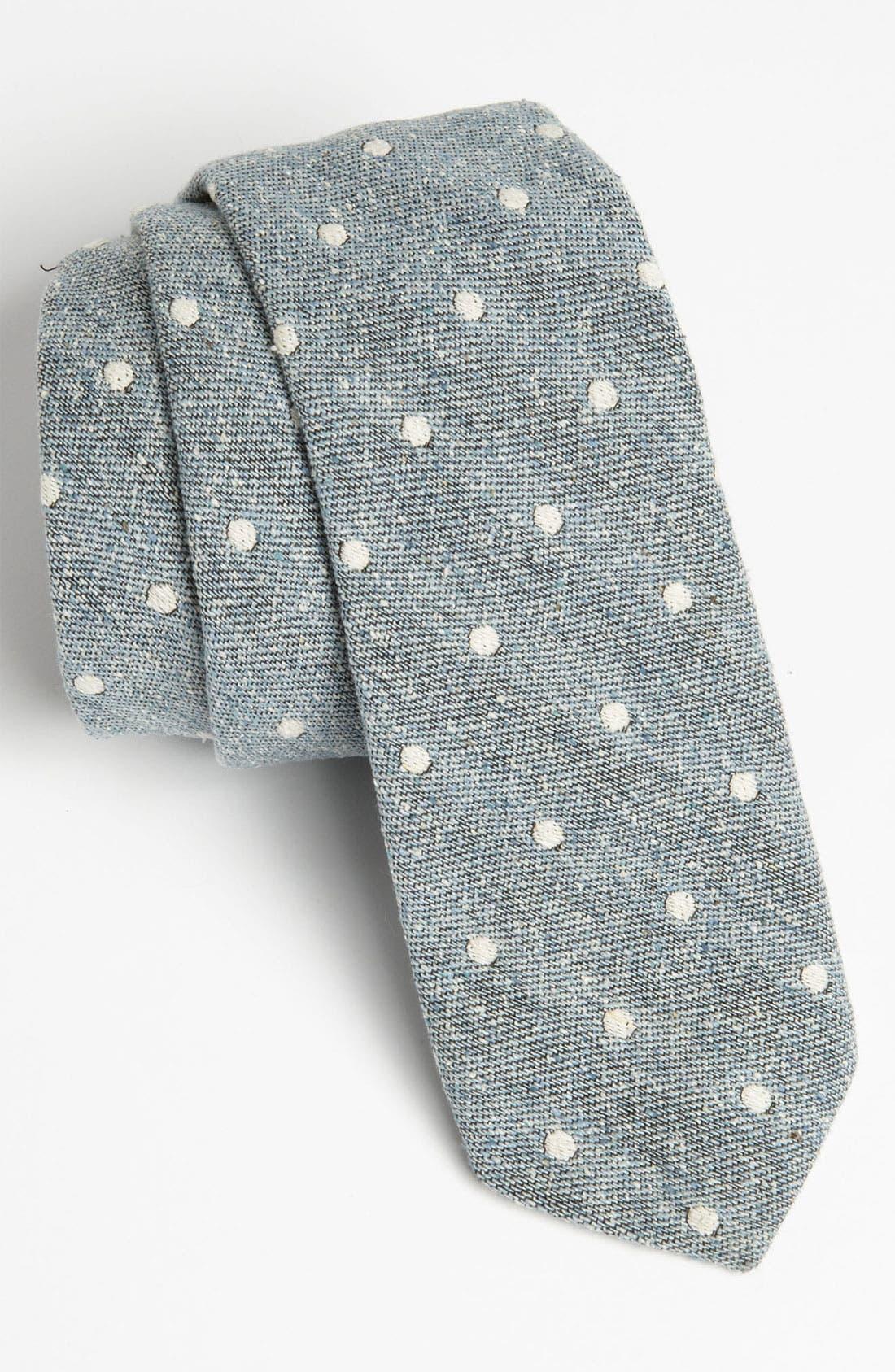 Main Image - Gitman Woven Silk Tie (Online Only)