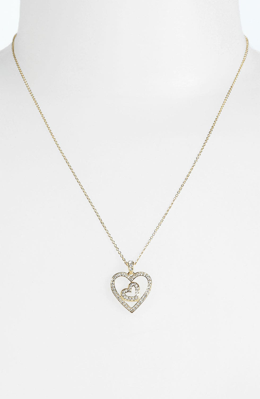 Alternate Image 2  - Nadri Boxed Heart Pendant Necklace (Nordstrom Exclusive)
