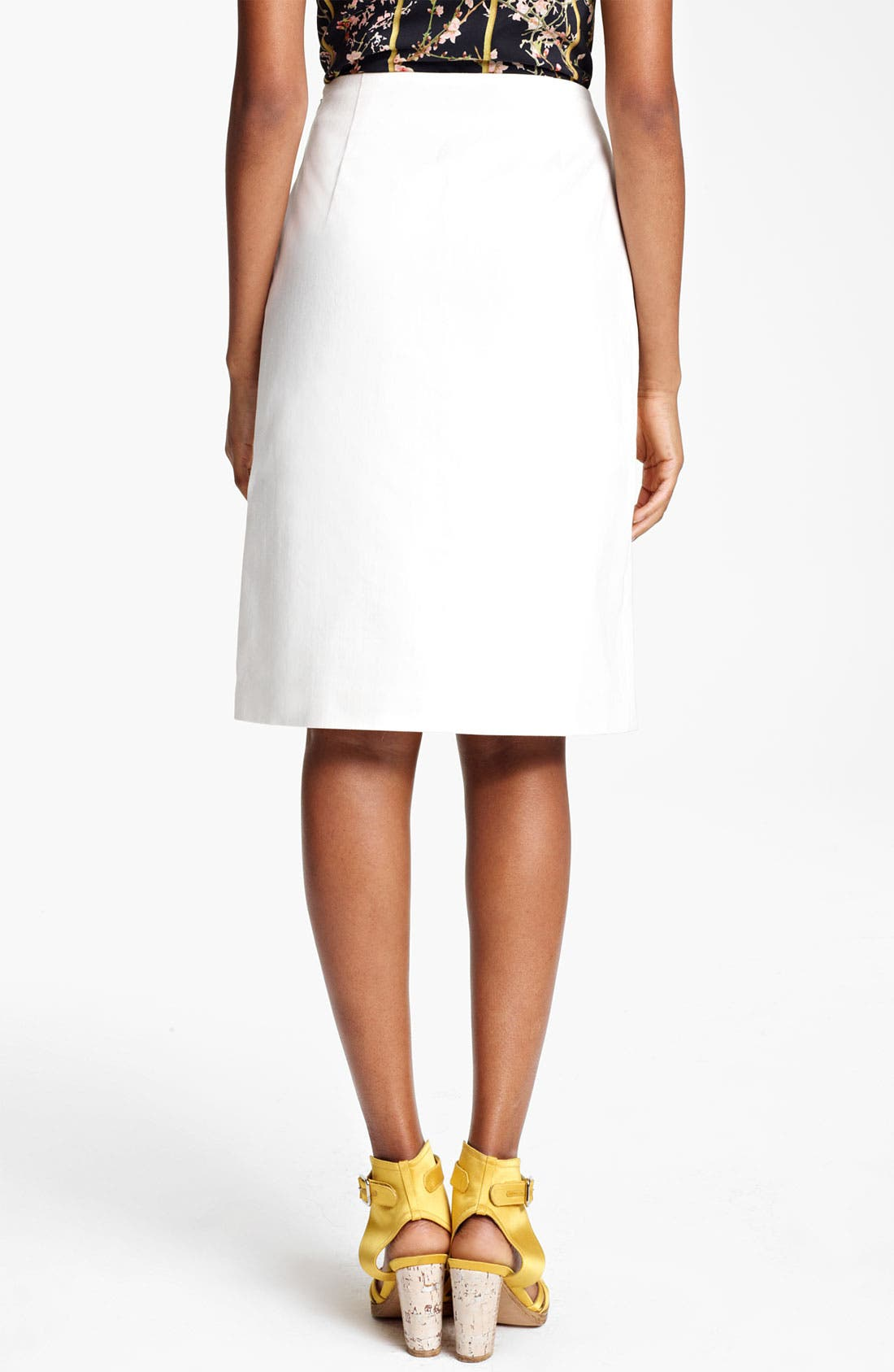 Alternate Image 2  - Thakoon Embroidered A-Line Skirt