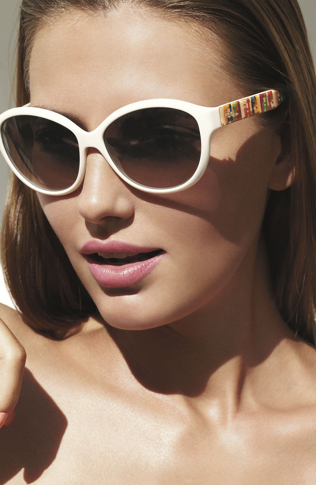 Alternate Image 2  - Fendi 'Technicolor' 58mm Sunglasses