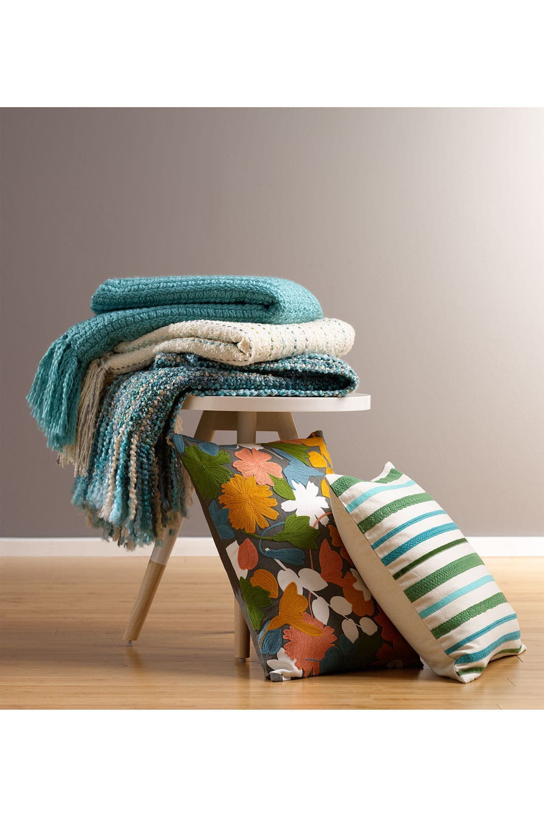 Alternate Image 2  - Nordstrom at Home 'Trim Stripes' Pillow Cover