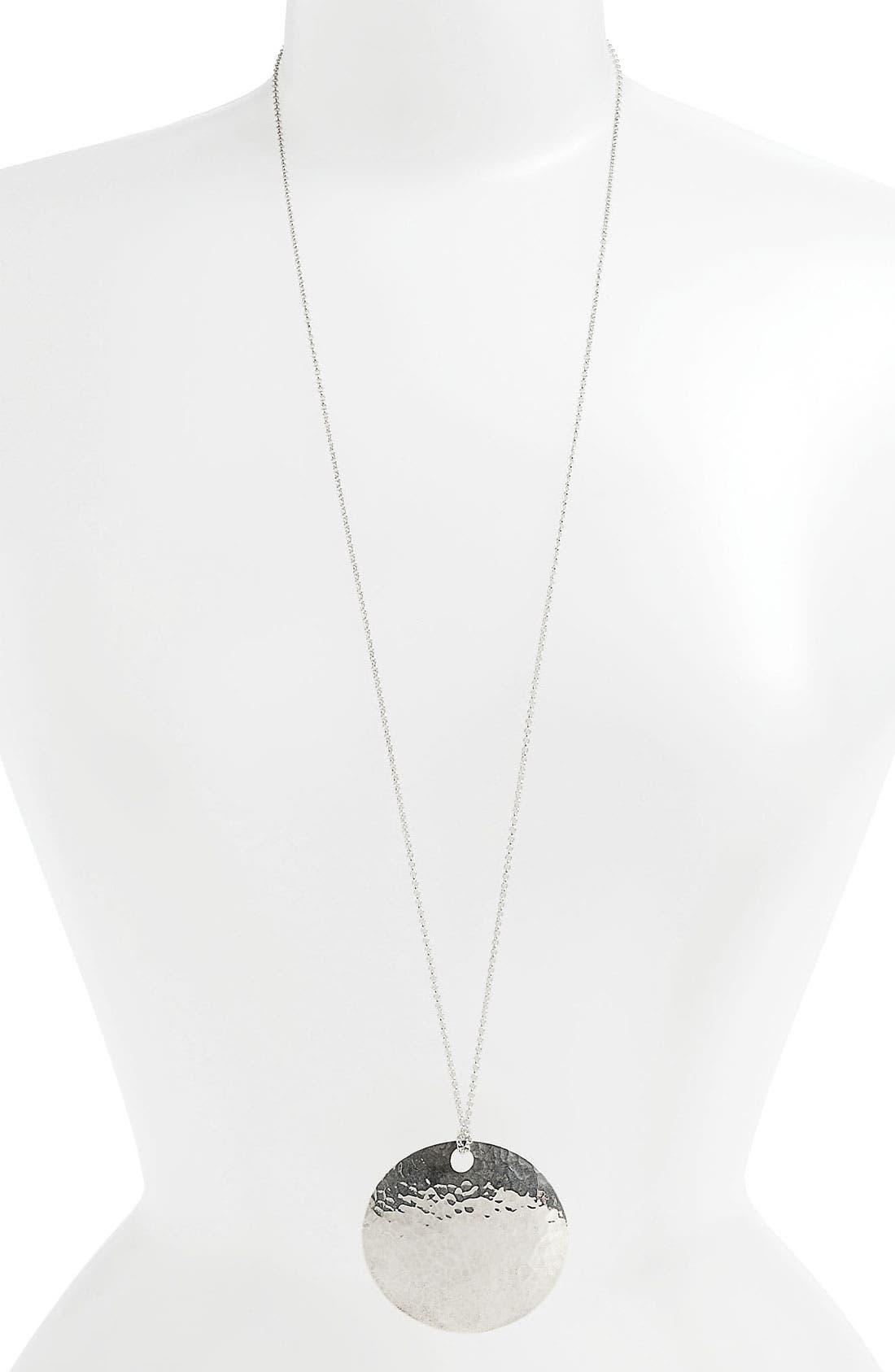 Main Image - Argento Vivo Pendant Necklace