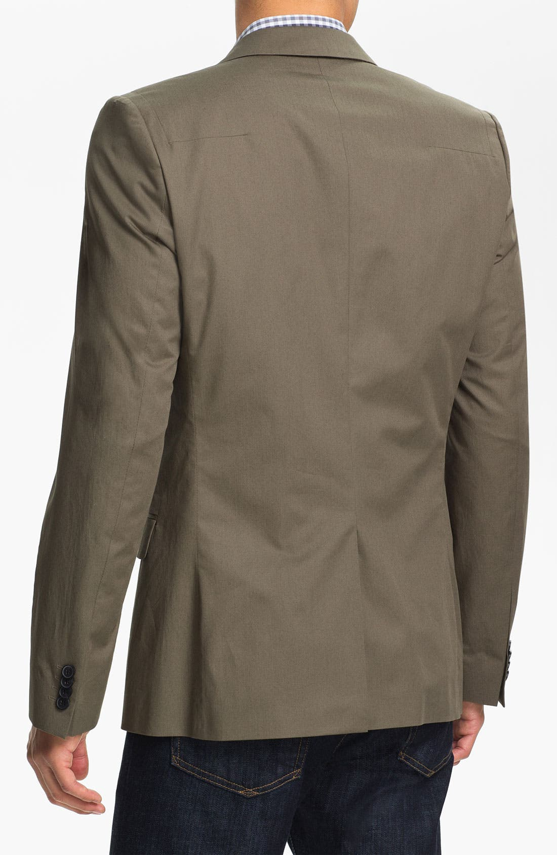 Alternate Image 2  - HUGO 'Astus' Extra Trim Fit Sportcoat (Online Only)