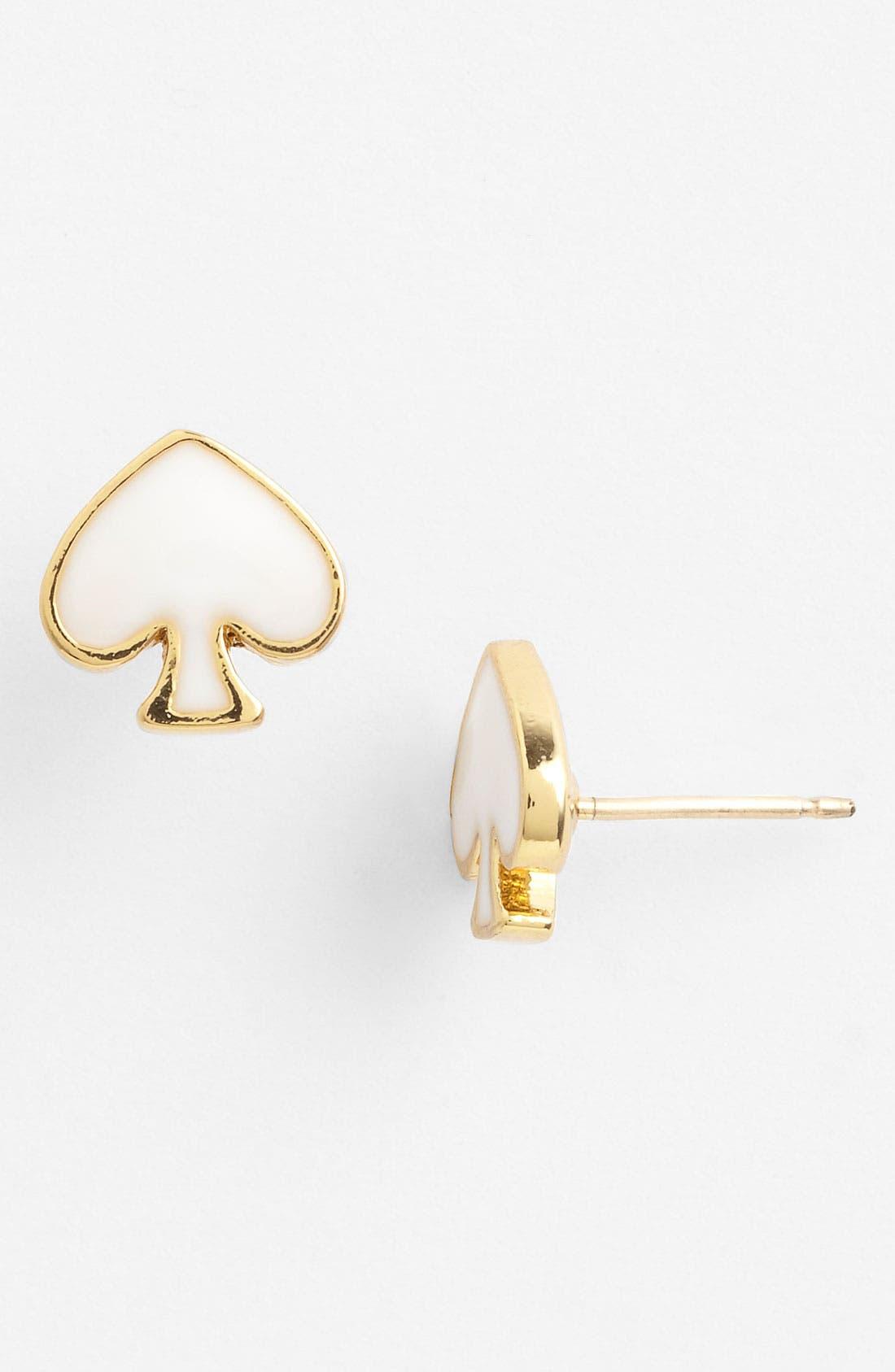 Alternate Image 1 Selected - kate spade new york 'spade to spade' mini stud earrings
