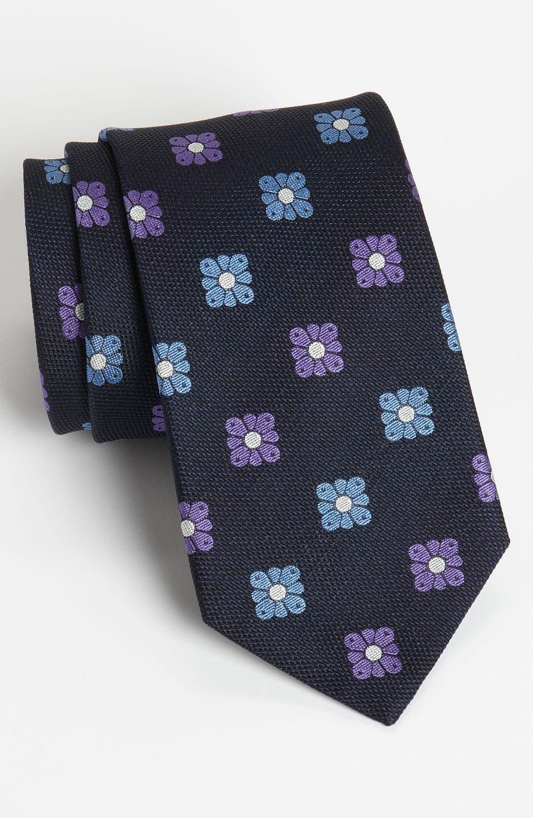 Alternate Image 1 Selected - Eton Woven Silk Tie