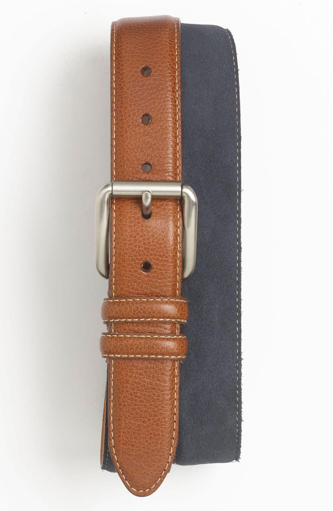 Main Image - Martin Dingman Leather Belt