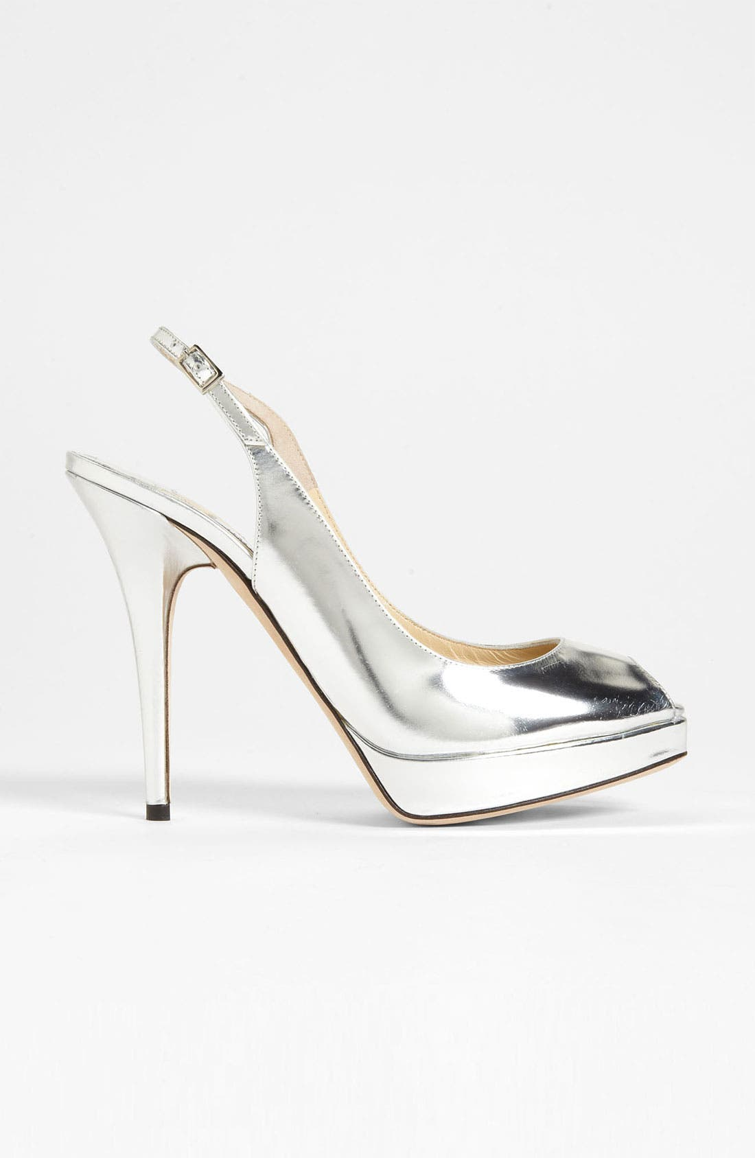 Alternate Image 4  - Jimmy Choo 'Clue' Slingback Peep Toe Pump