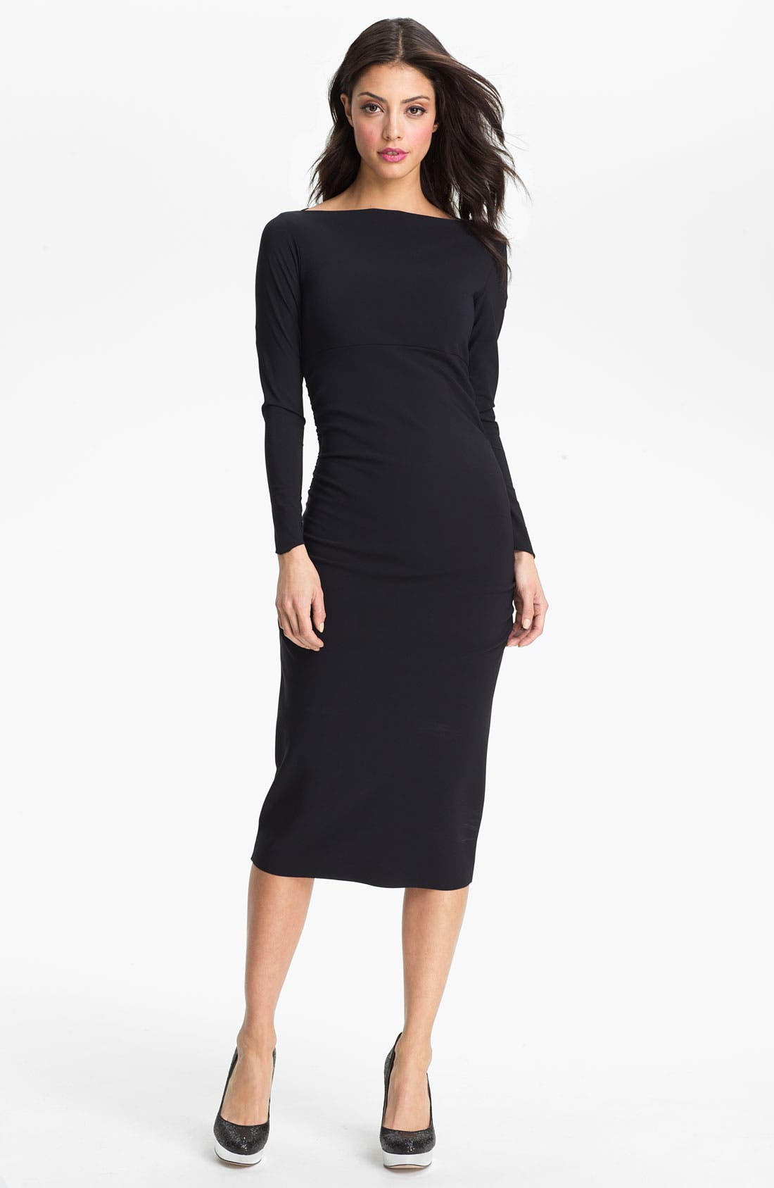 Main Image - La Petite Robe by Chiara Boni 'Coschita' Jersey Sheath Dress