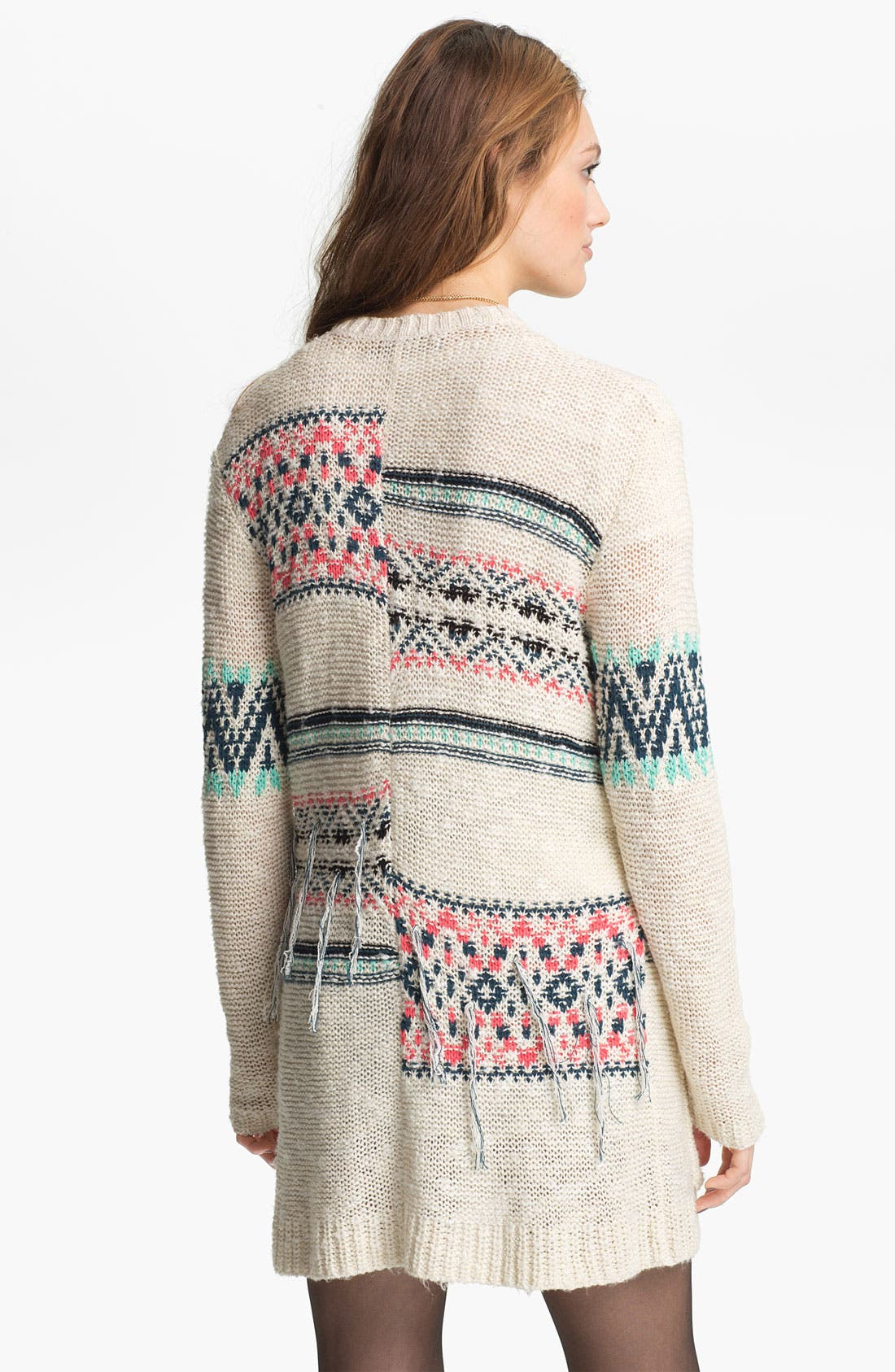 Alternate Image 2  - Rubbish® 'Blanket' Cardigan (Juniors)