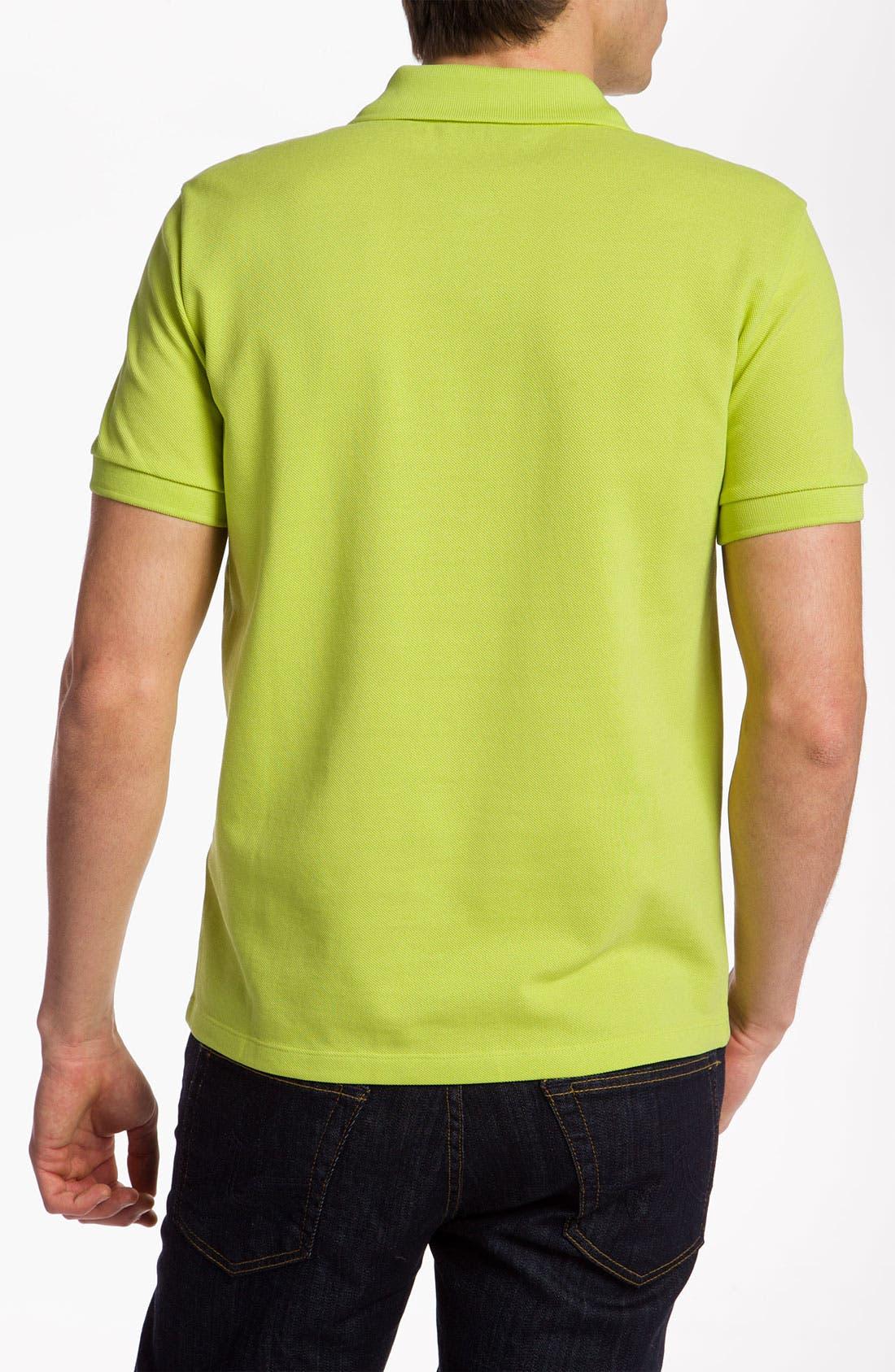 Alternate Image 2  - Versace Short Sleeve Piqué Polo
