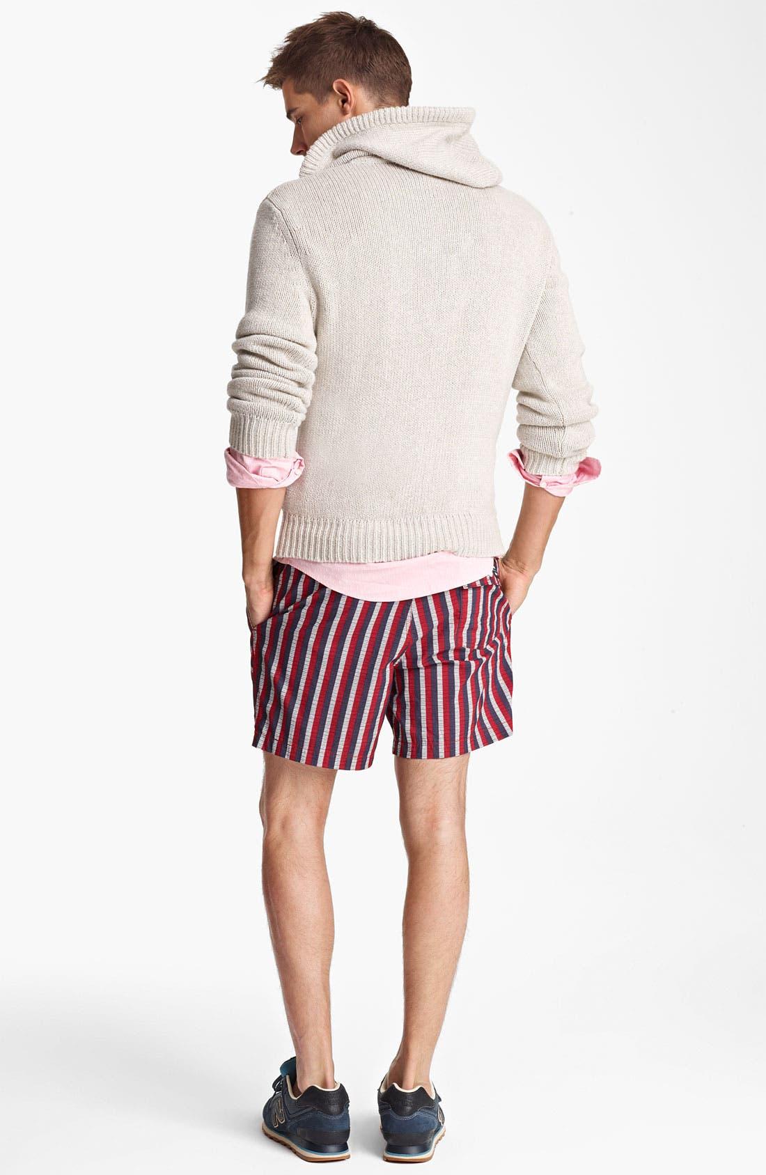 Alternate Image 5  - Jack Spade 'Baker' Hooded Sweater