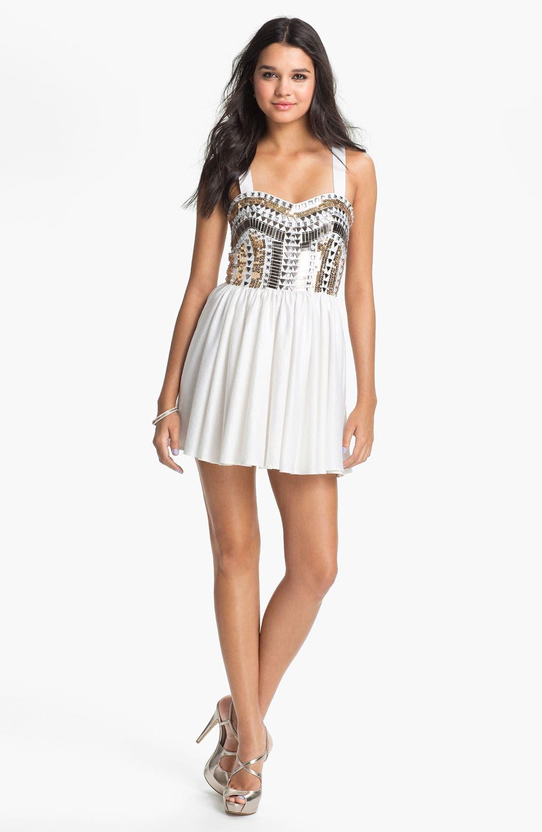 Alternate Image 1 Selected - Keepsake the Label 'Force of Nature' Embellished Dress