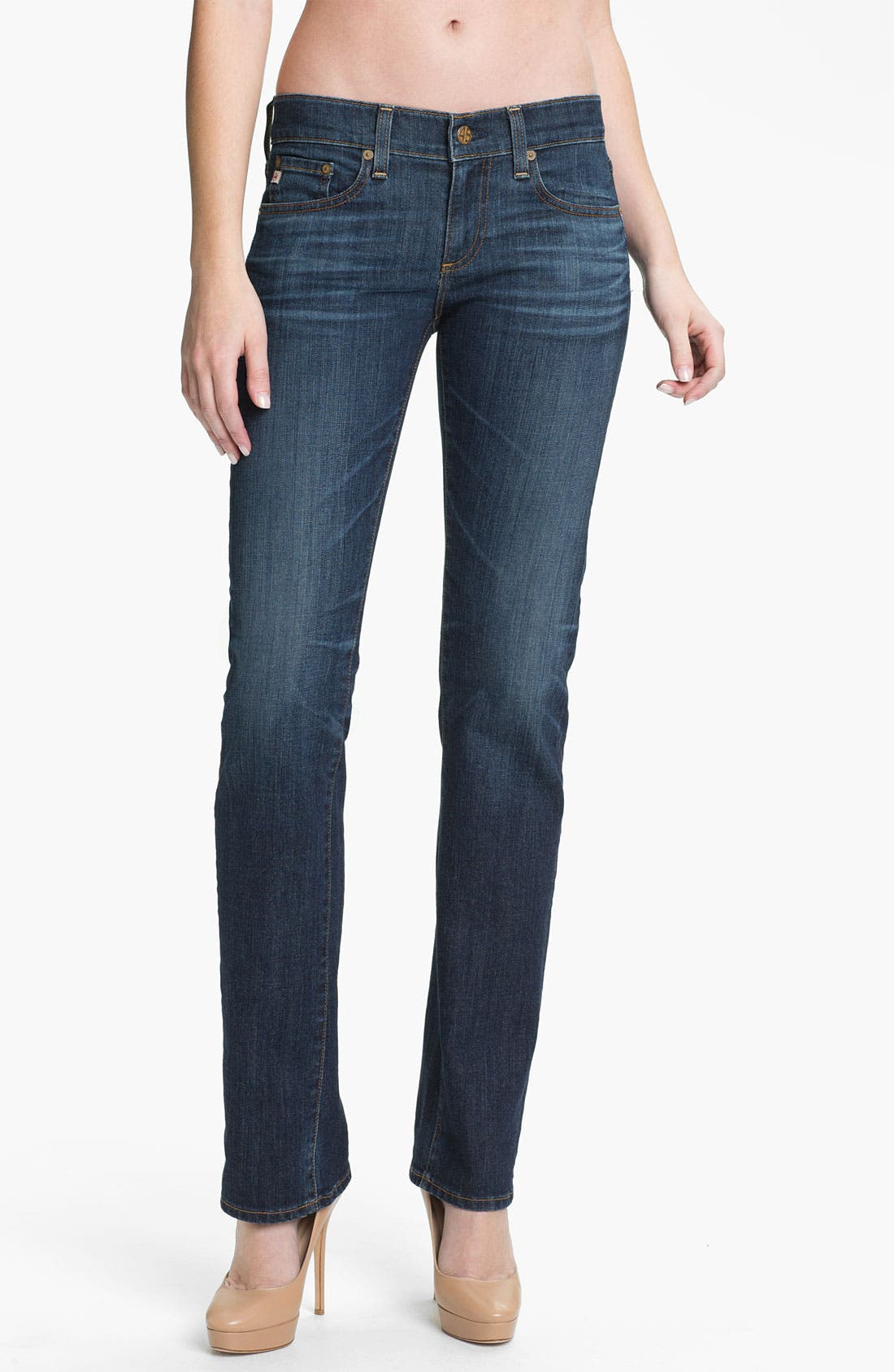 Alternate Image 1 Selected - AG 'The Tomboy' Relaxed Jeans (5 Year)