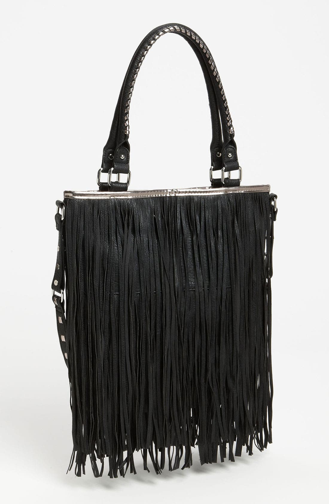 Alternate Image 1 Selected - Steve Madden Fringe Tote
