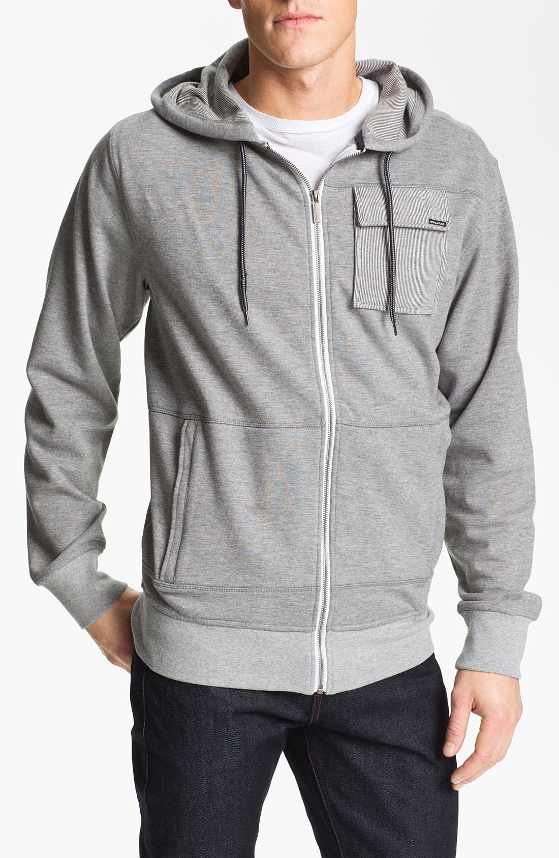Alternate Image 1 Selected - Volcom 'Martin' Zip Hoodie