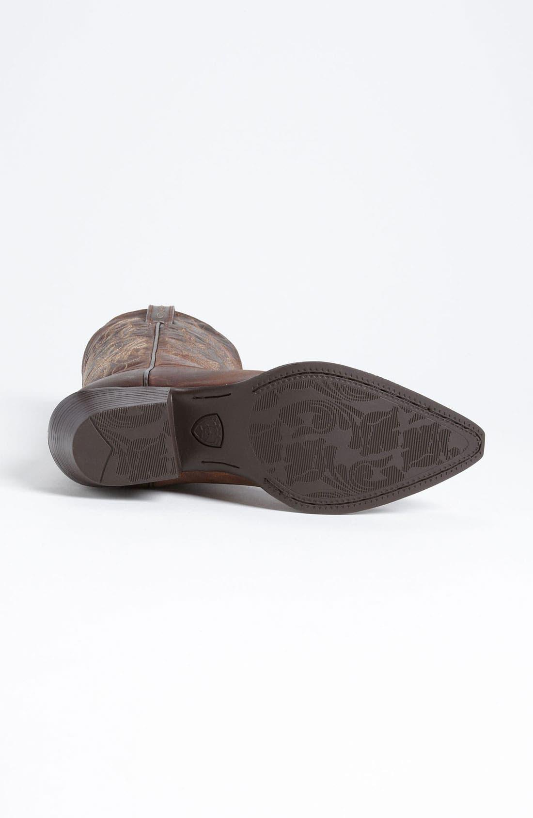 Alternate Image 4  - Ariat 'Heritage Western J Toe' Boot