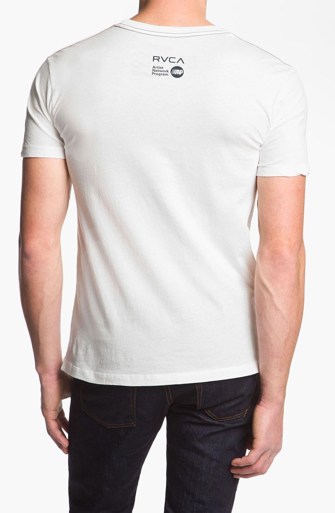 Alternate Image 2  - RVCA 'Ballistic' T-Shirt
