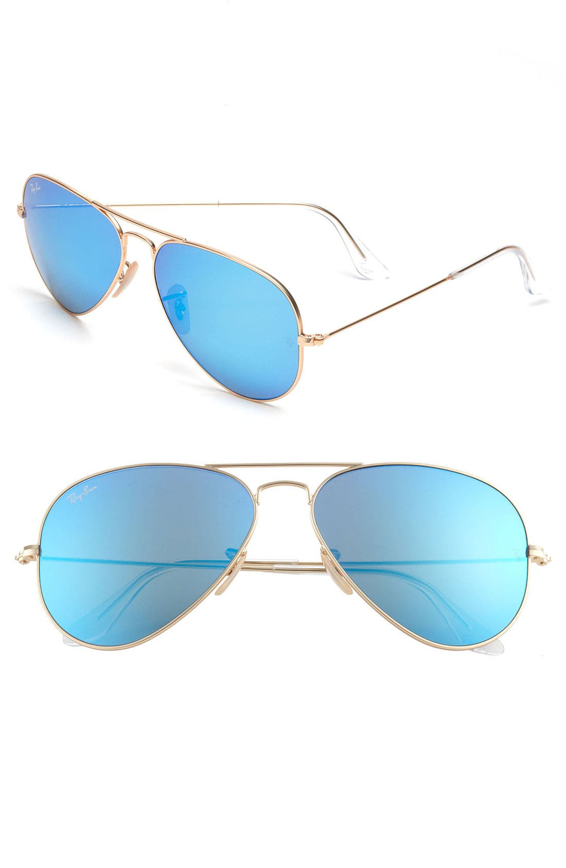 Alternate Image 1 Selected - Ray-Ban Standard Original 58mm Aviator Sunglasses