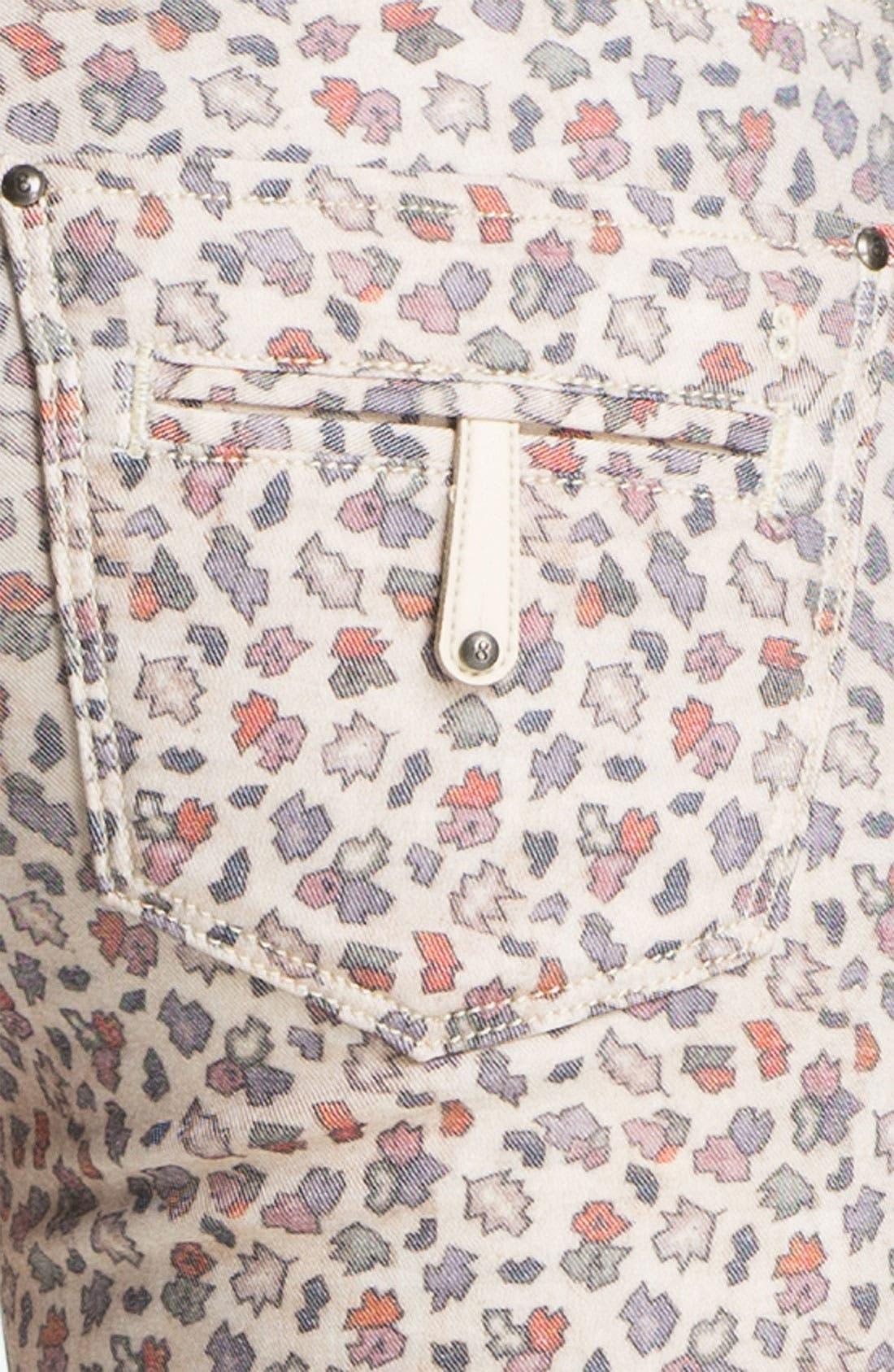 Alternate Image 3  - Twenty8Twelve 'Ashberry' Skinny Print Stretch Jeans