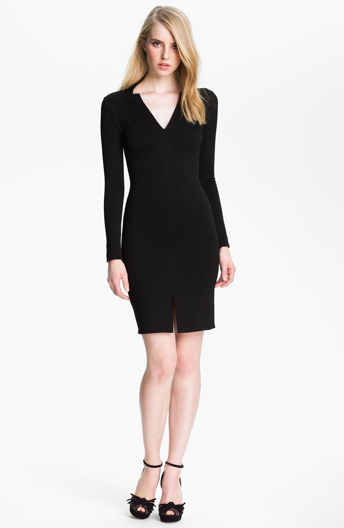 Alternate Image 1 Selected - Halston Heritage Ponte Sheath Dress