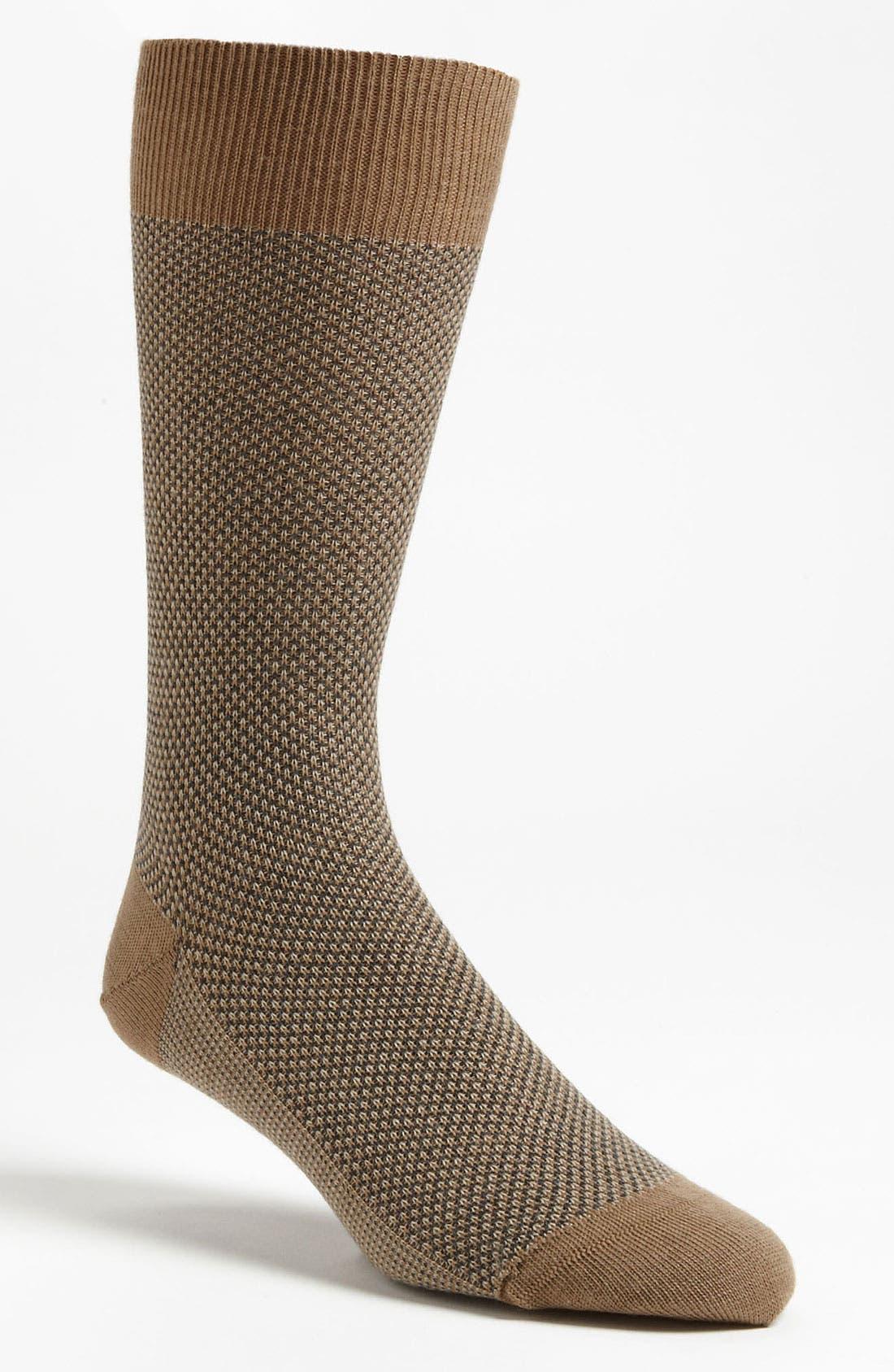 Alternate Image 1 Selected - Pantherella 'Vintage Collection' Birdseye Socks