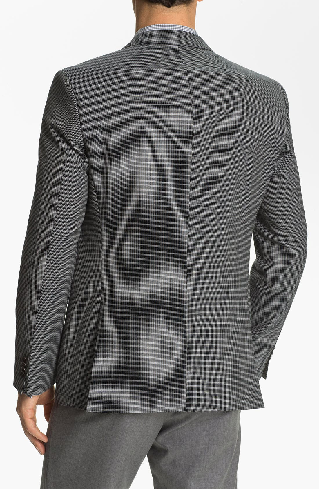 Alternate Image 2  - BOSS Black 'Keys' Trim Fit Check Sportcoat