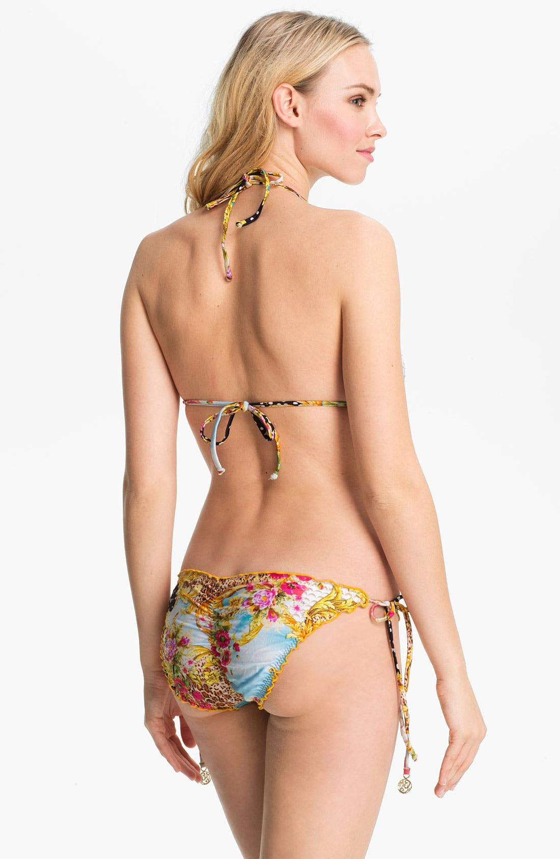 Alternate Image 5  - Luli Fama 'Sexy 60' Embellished Bikini Bottoms