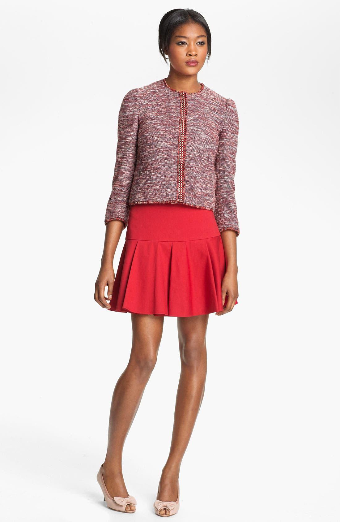 Alternate Image 1 Selected - RED Valentino Tweed Jacket