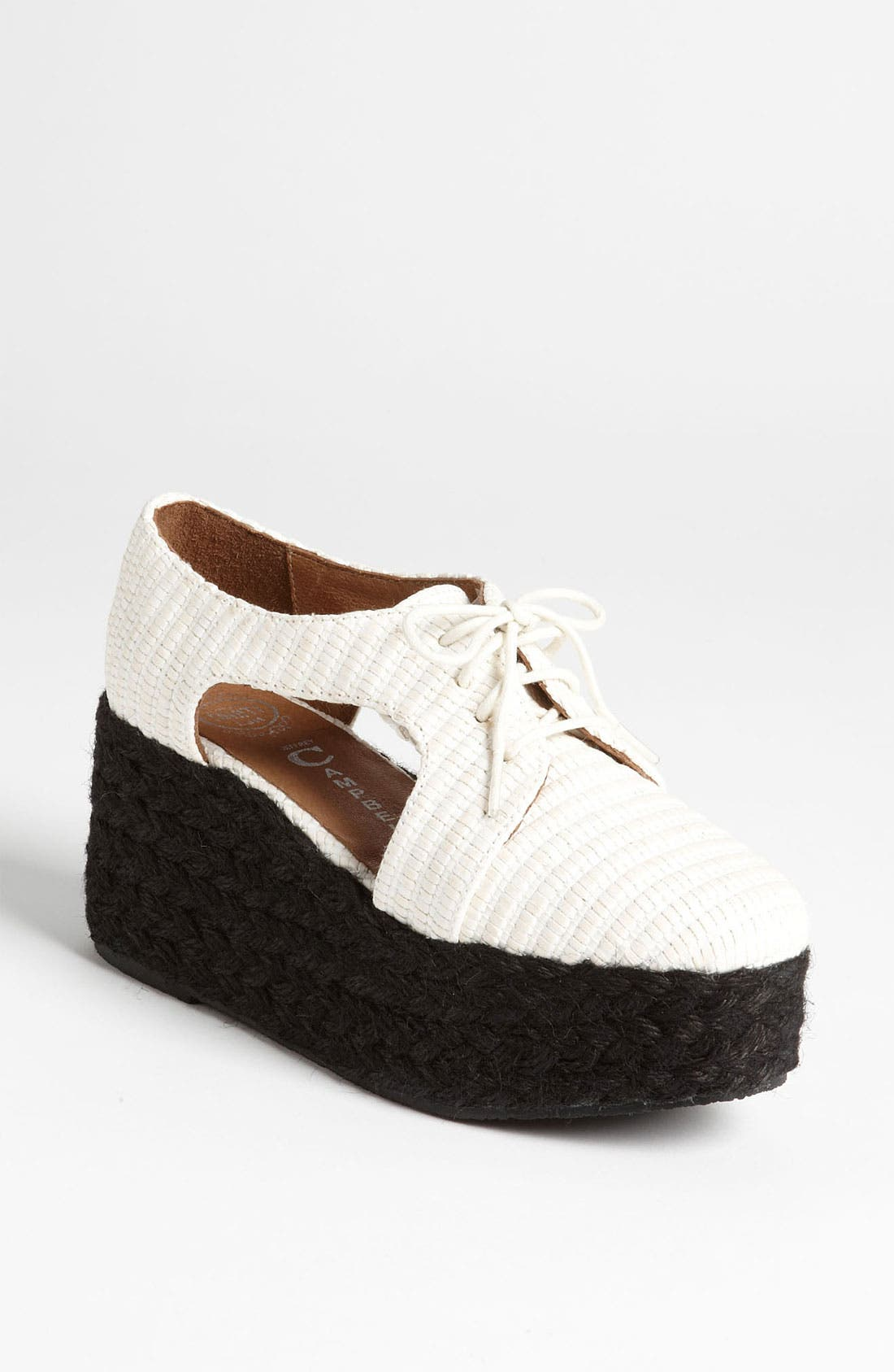 Alternate Image 1 Selected - Jeffrey Campbell 'Clinton' Oxford Wedge