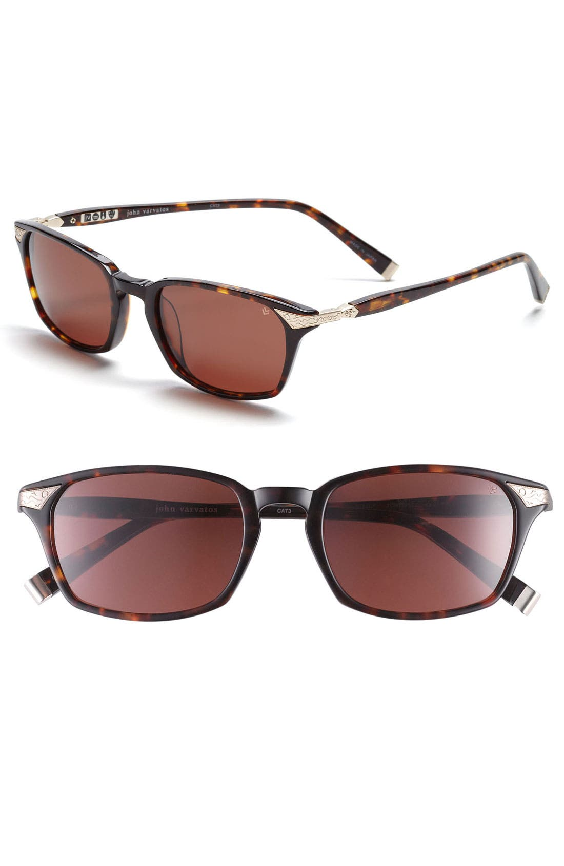 Main Image - John Varvatos Collection 53mm Sunglasses