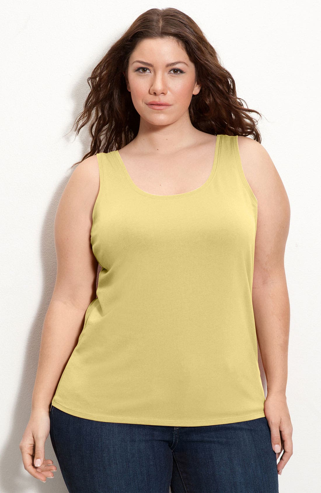 Alternate Image 1 Selected - NIC+ZOE 'Also Perfect' Tank (Plus Size)