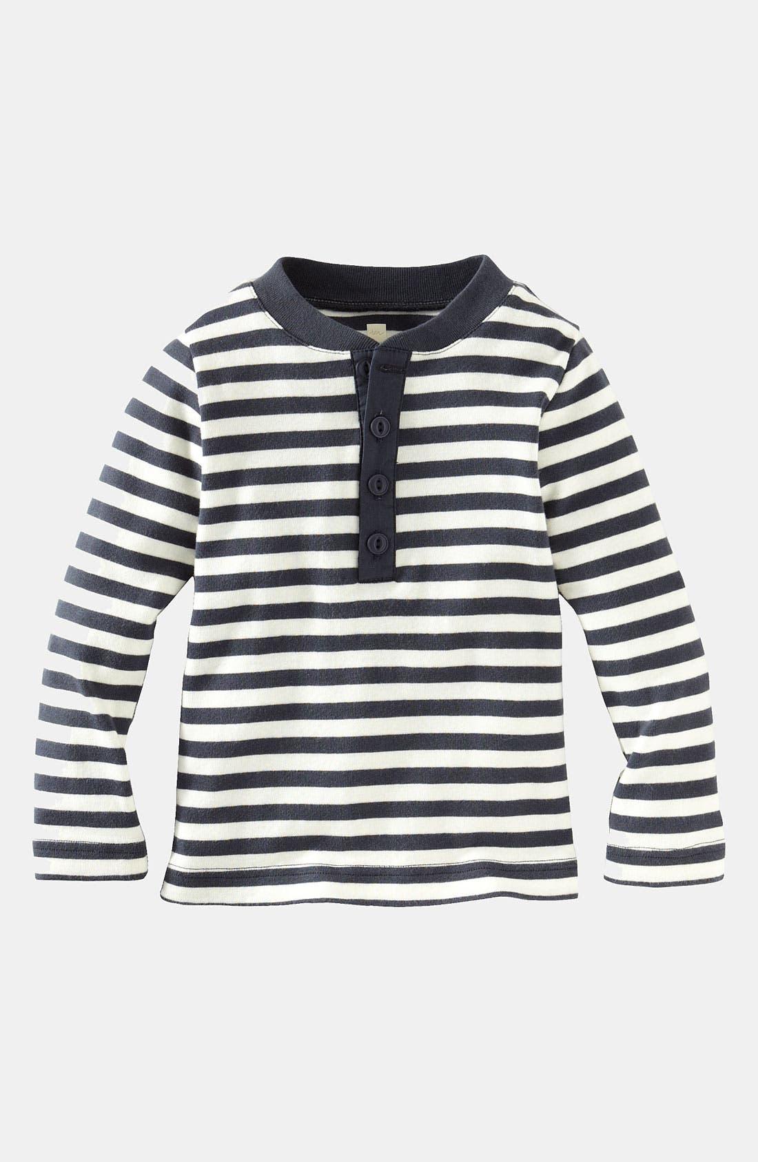 Main Image - Tea Collection 'Vilakazi' Henley Shirt (Infant)