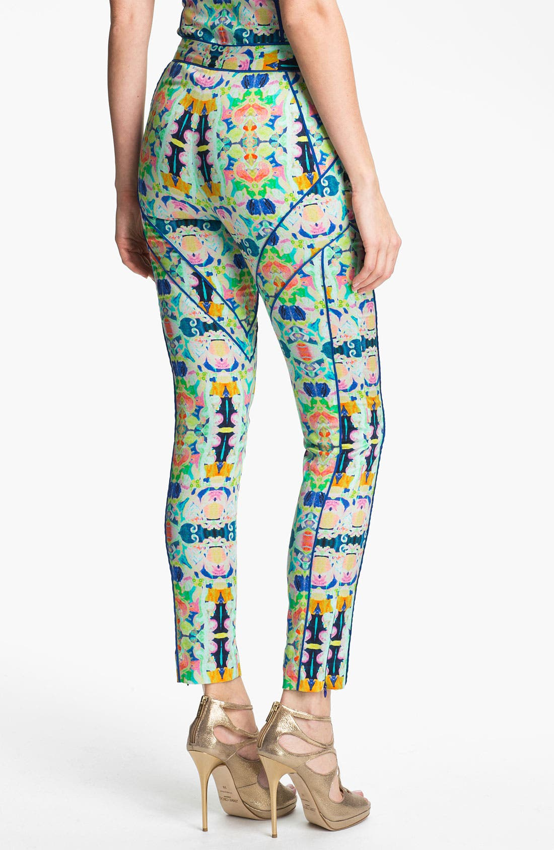 Alternate Image 2  - Milly Crop Skinny Pants